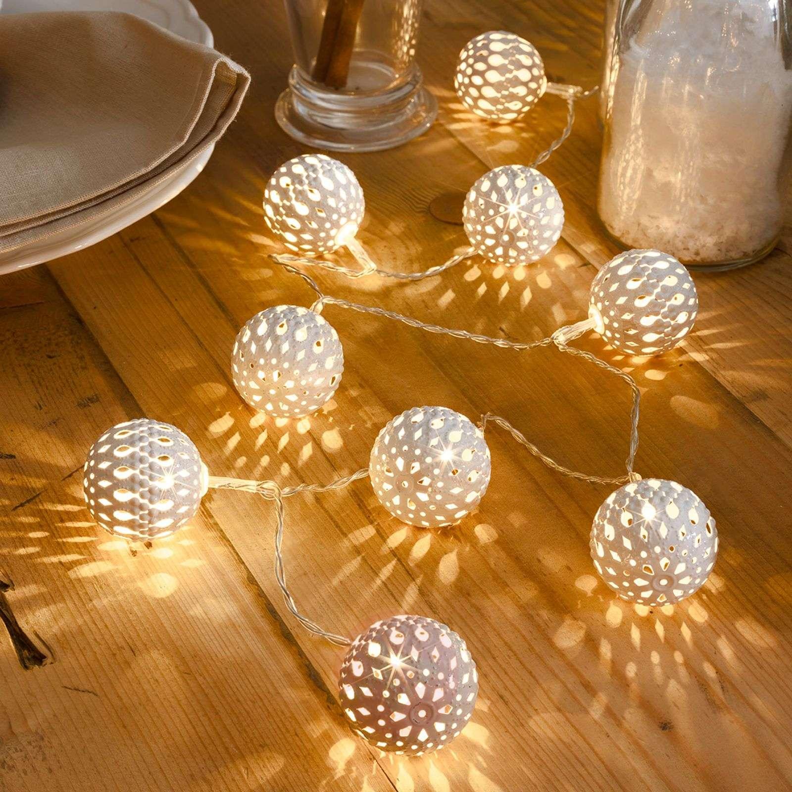 10-bulb metal ball LED string lights, white-5524574-01
