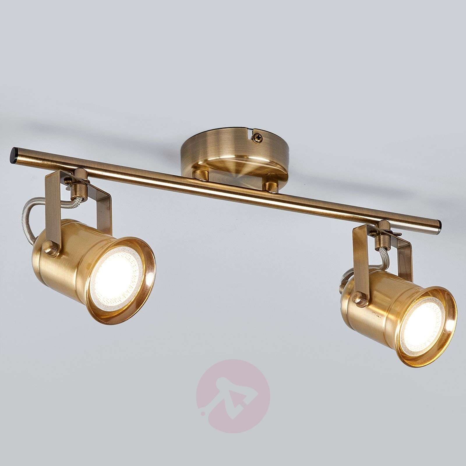 2 bulb gu10 spotlight marlis antique brass lights 2 bulb gu10 spotlight marlis antique brass 9634034 09 mozeypictures Gallery