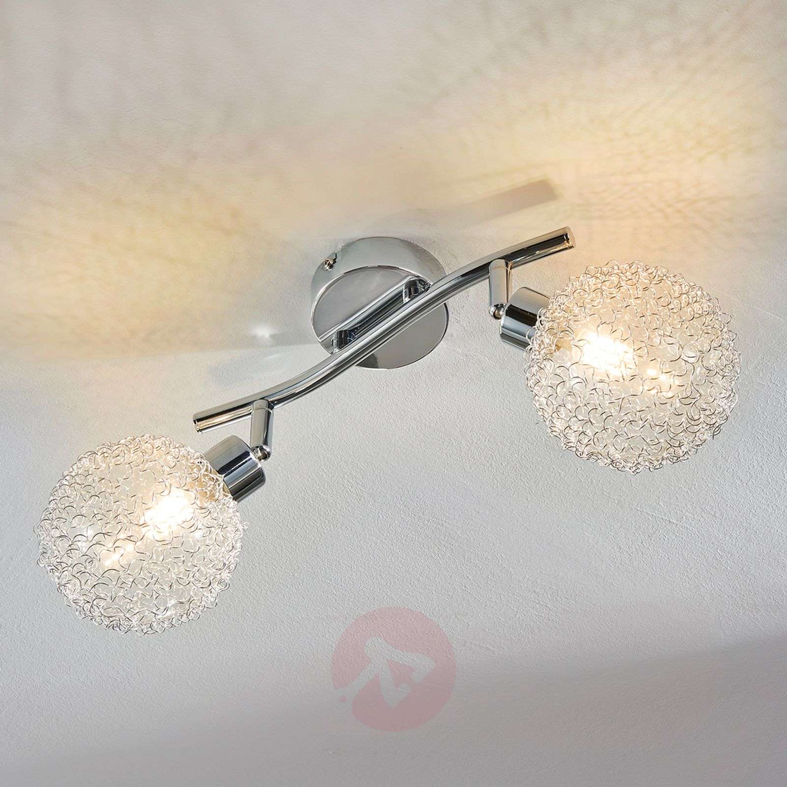 2-bulb LED ceiling lamp Ticino-9620778-04