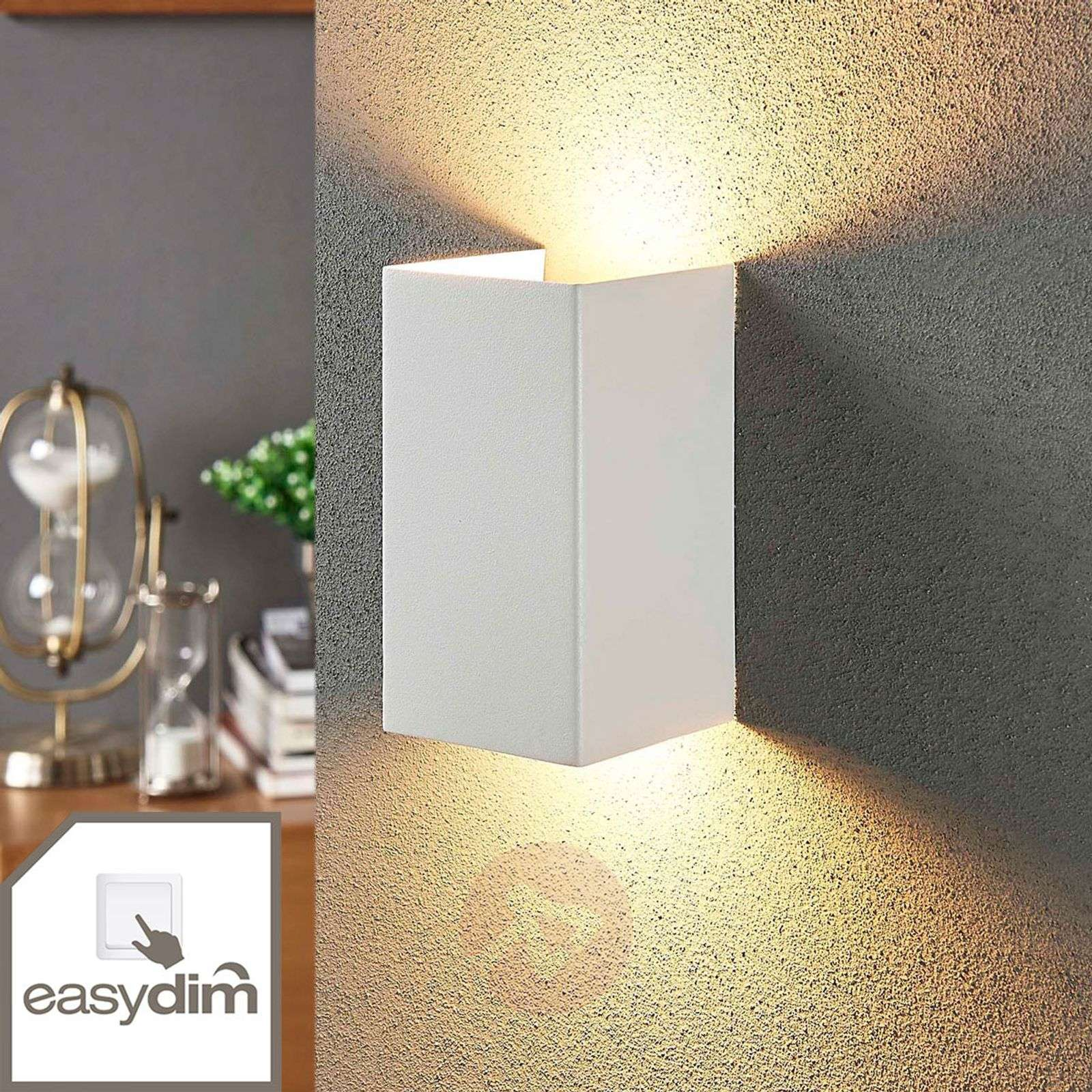 2-bulb LED wall light Jaymie, dimmable via switch-9621283-02