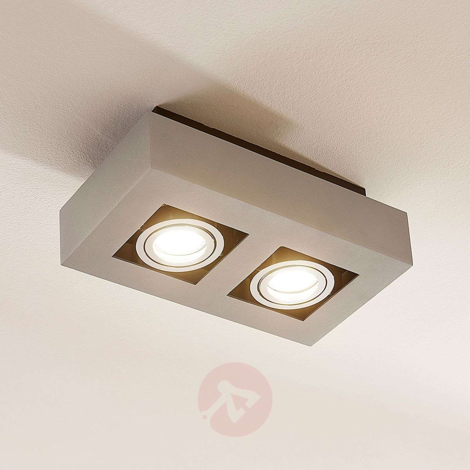 2-bulb Vince LED ceiling light-9620074-01