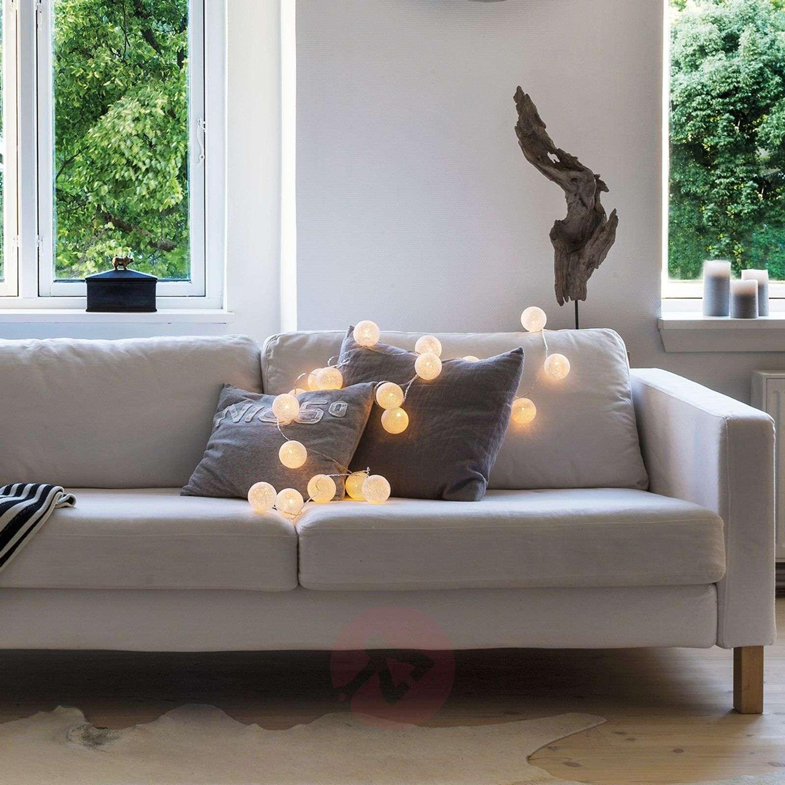 20-bulb LED string lights Bolette, pure white-8577002-01