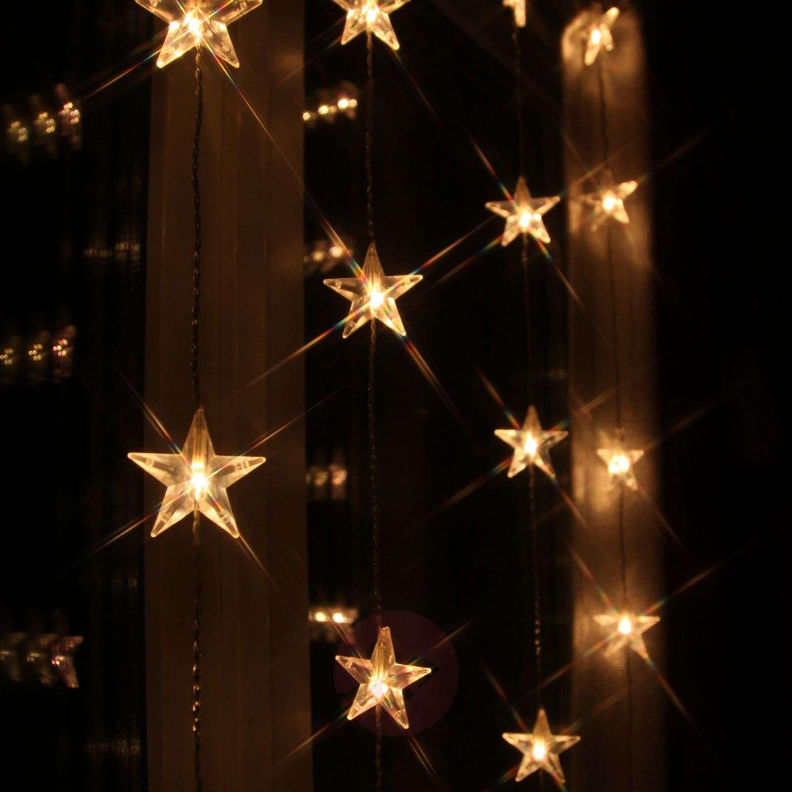 200 Cm High LED Curtain Light Star 50 Bulb 1522838 01