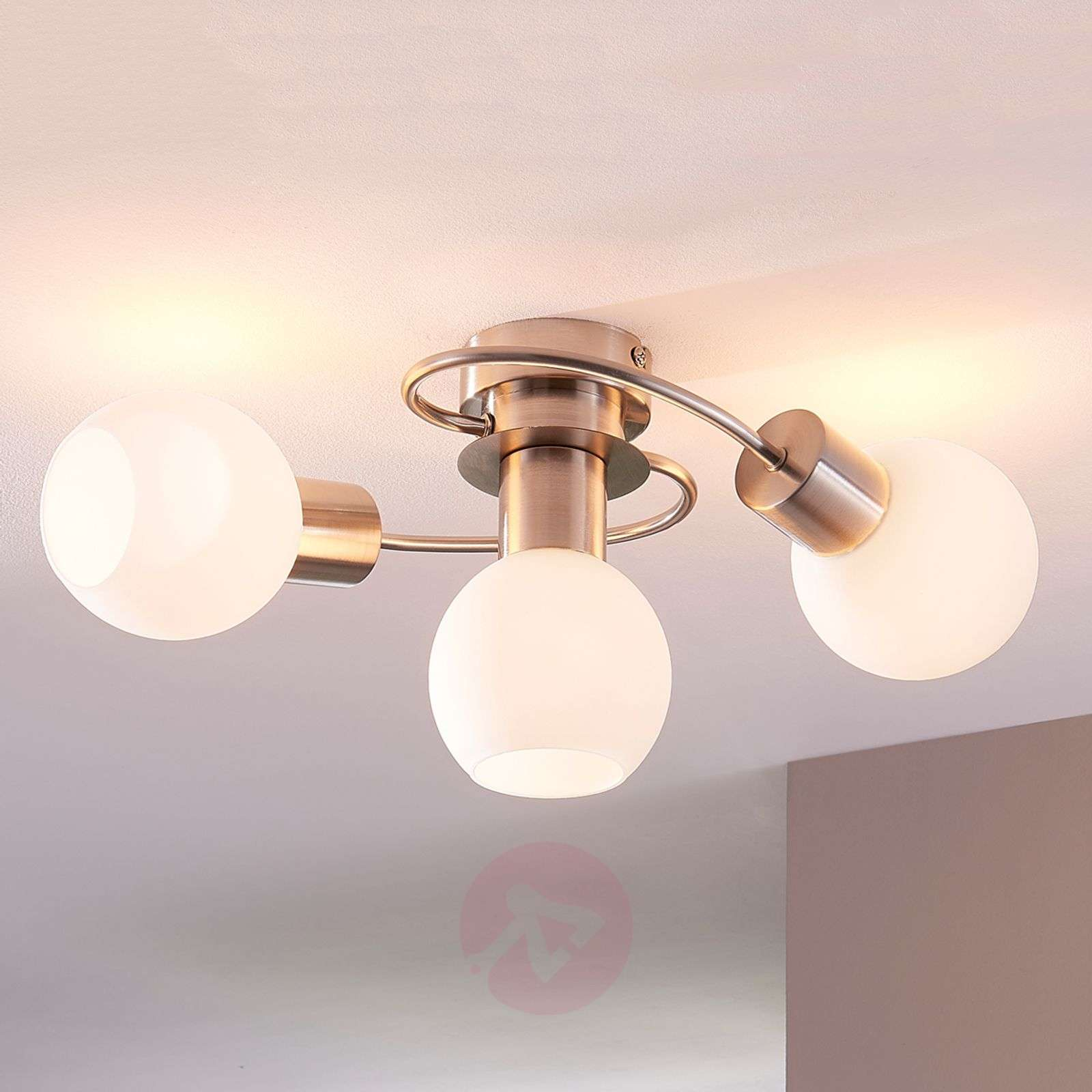 3-bulb Ciala LED ceiling light-9621008-03