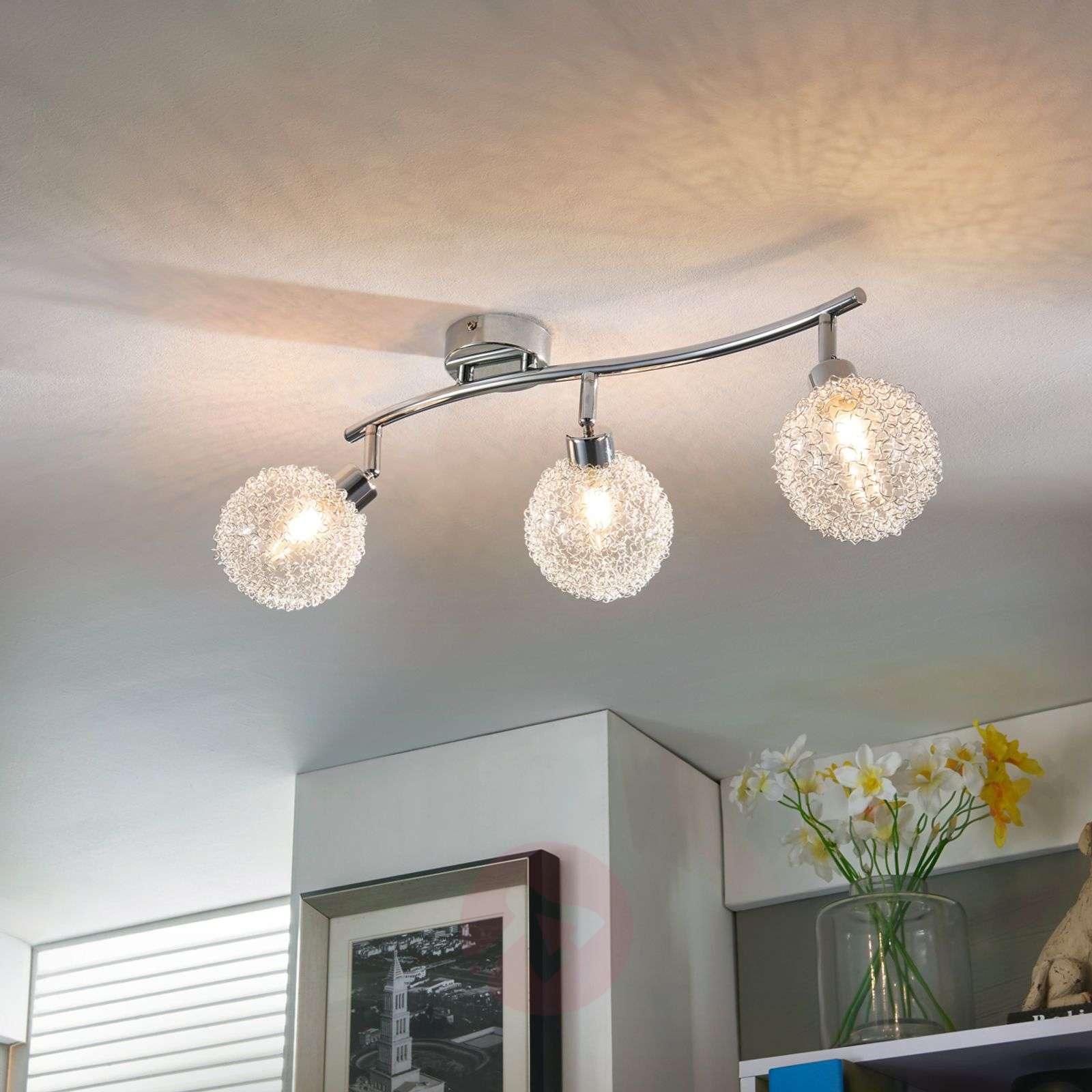 3-bulb LED ceiling light Ticino-9620779-04