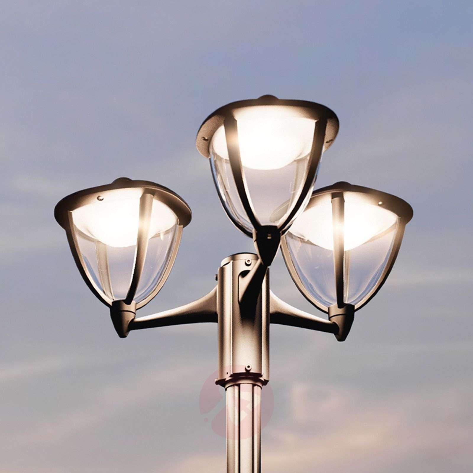 3 bulb led post light robin lights 3 bulb led post light robin 7531781 01 aloadofball Choice Image