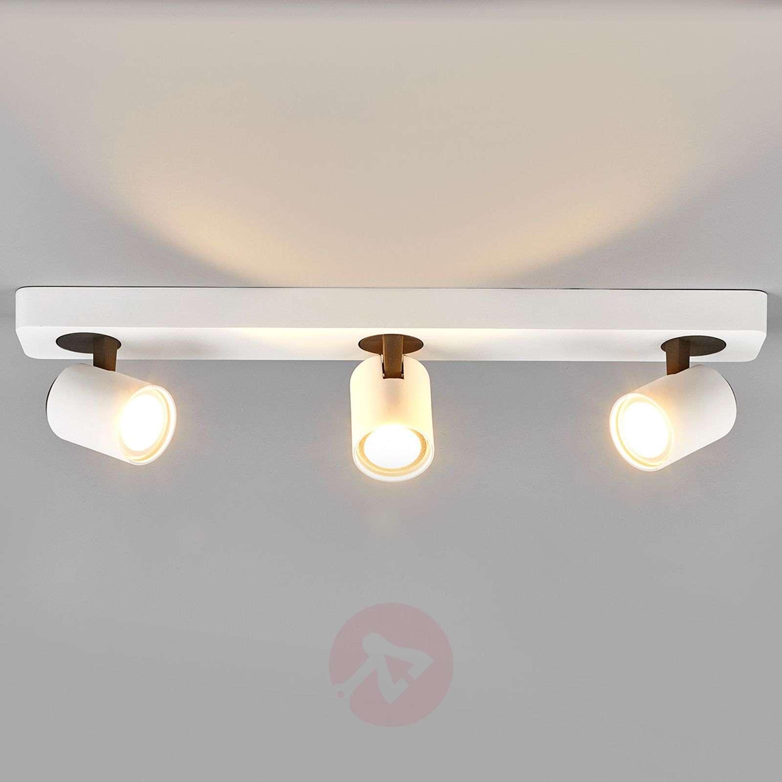 3-bulb LED spotlight in white Sean-9975020-01