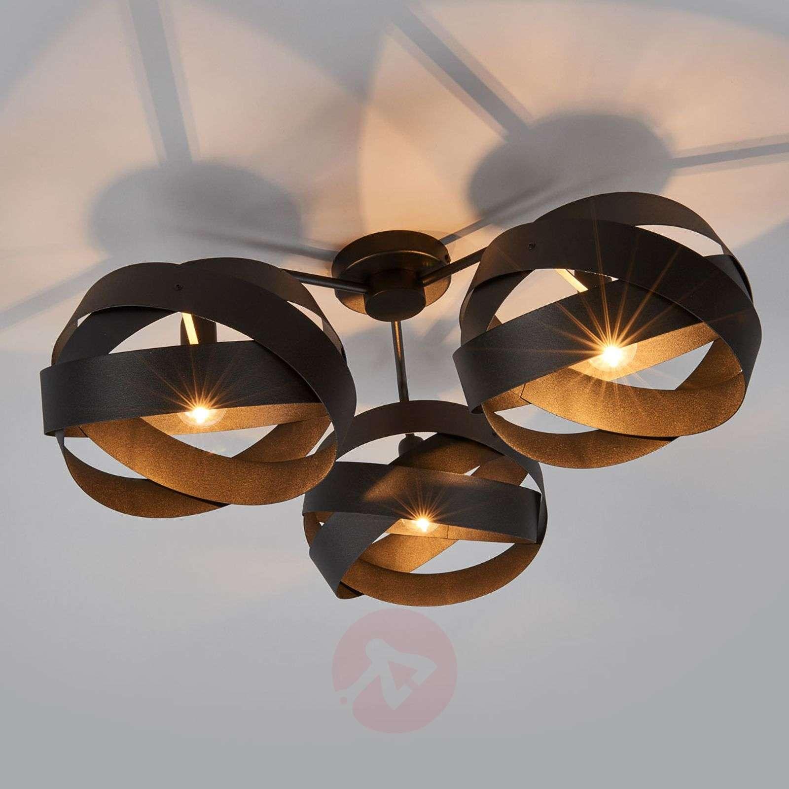 3-bulb Tornado ceiling light-6089033-02