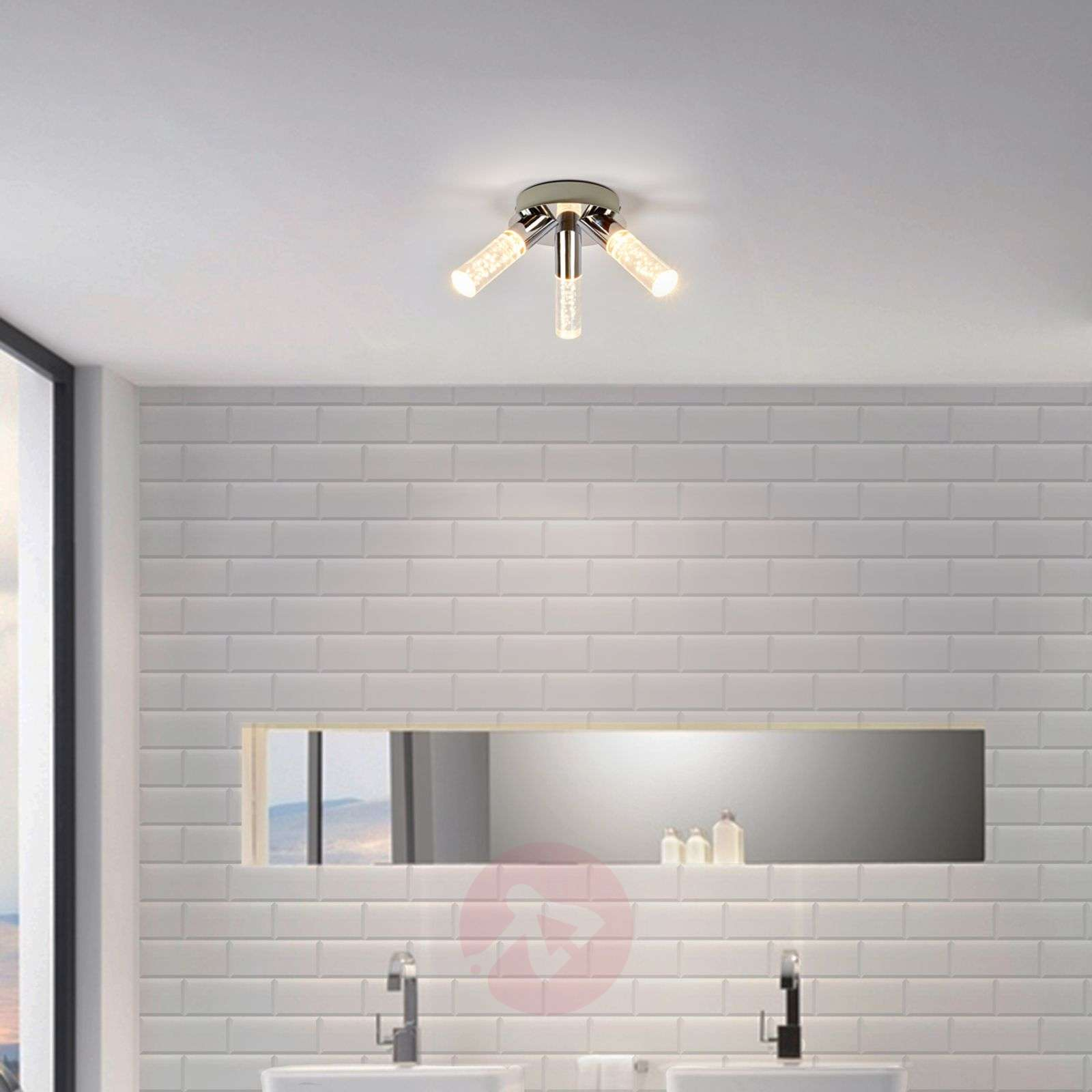 Light Duncan Bathroom Ceiling Light LED Lightsie - Bathroom celing