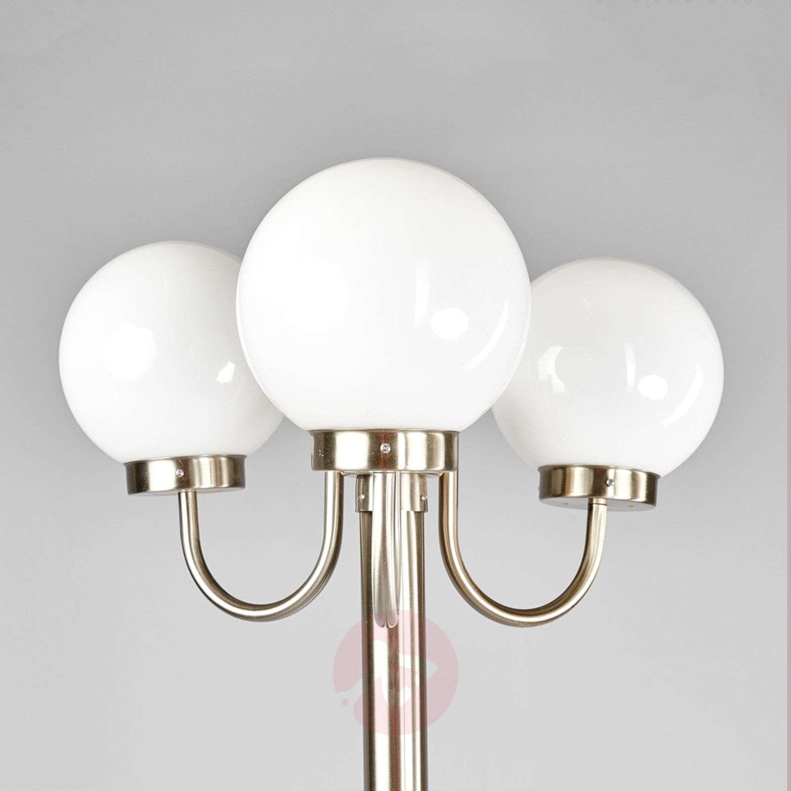 3 light post light laci made of stainless steel lights 3 light post light laci made of stainless steel 9647037 01 aloadofball Gallery