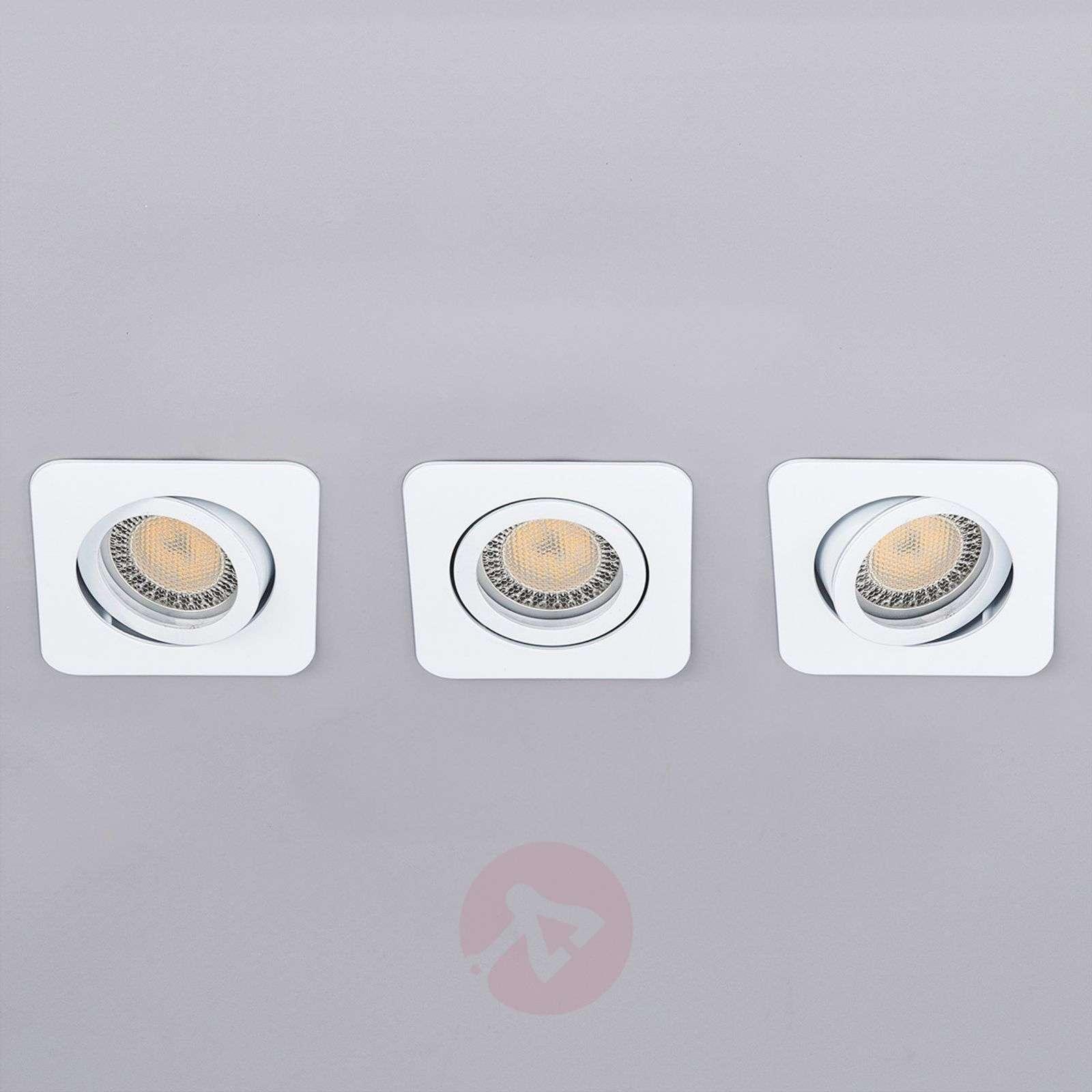 3 piece LED spotlight set Lisara in white-9950352-01