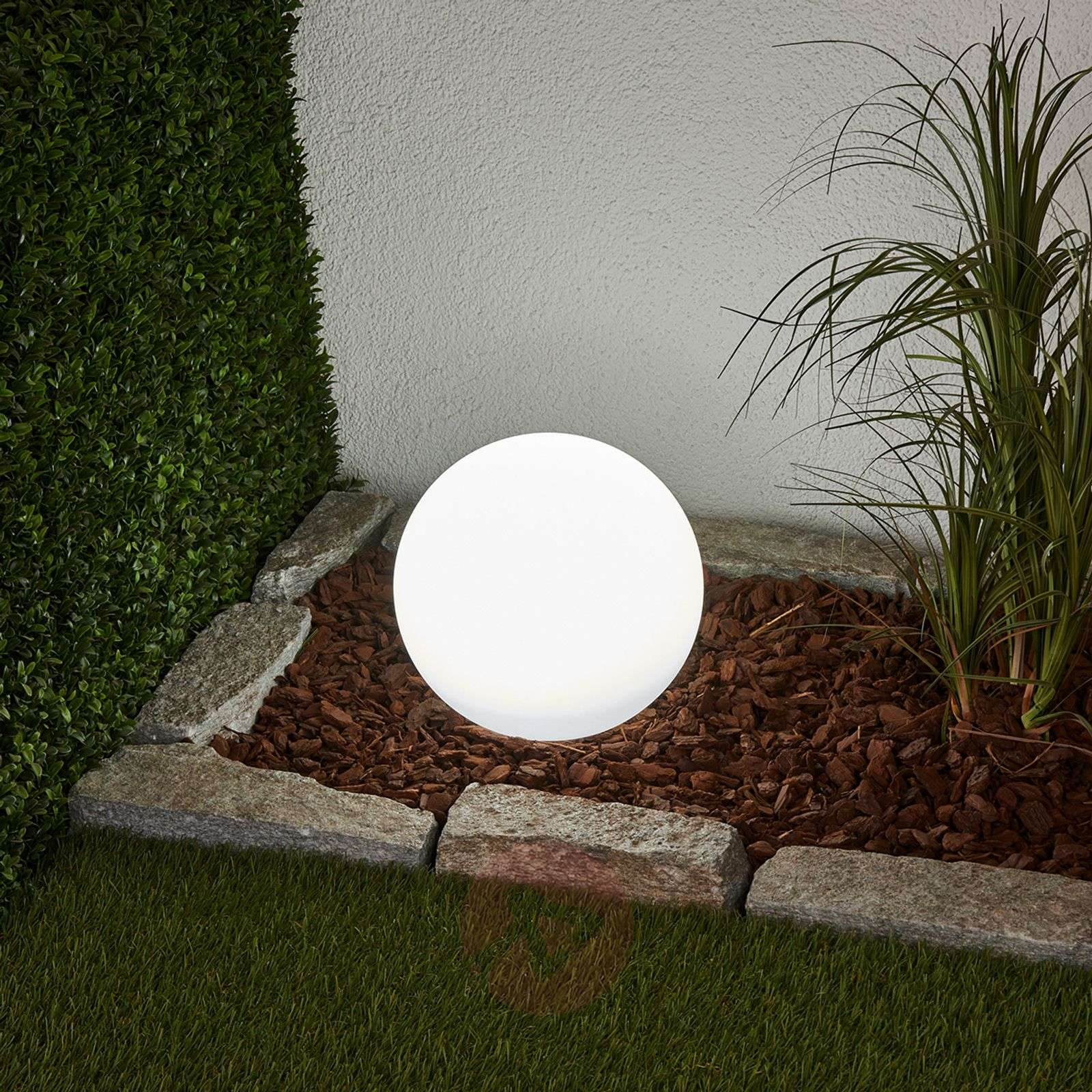 3-piece set LED solar lamps Lago, spheres-4018065-03