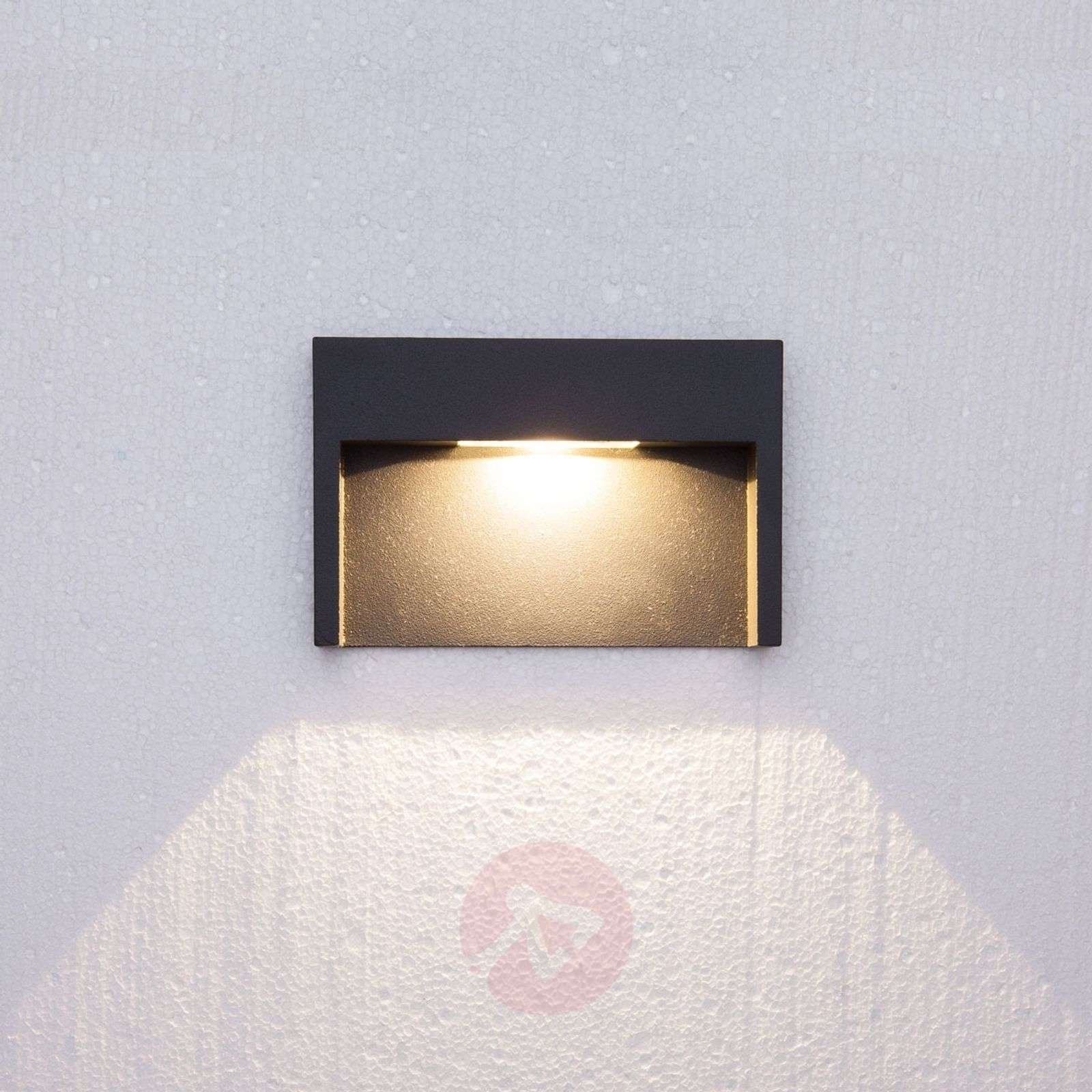 3 W LED wall light fixture Mitja, IP65-9616003-01
