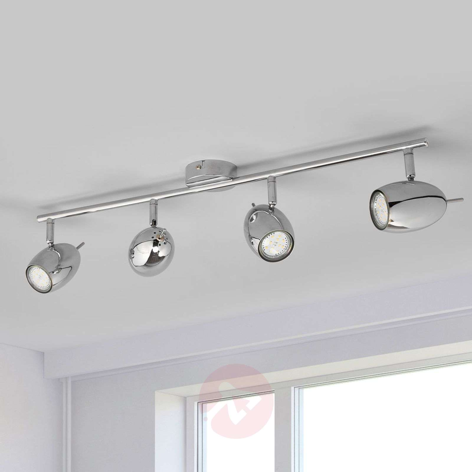 4-bulb LED ceiling spotlight Philippa-9970125-02