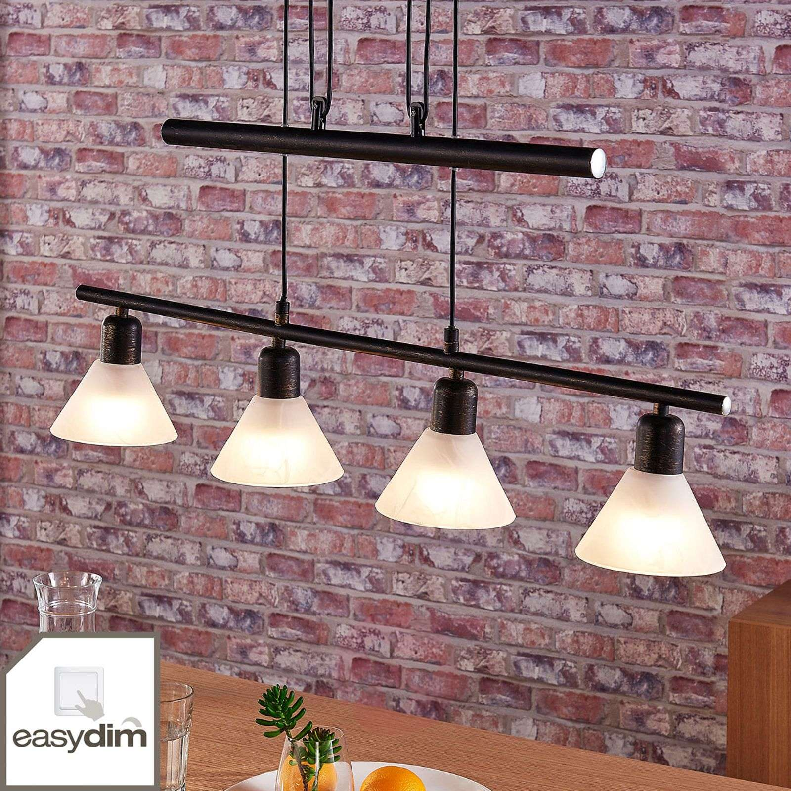 4-bulb LED hanging lamp Eleasa, Easydim-9621385-02