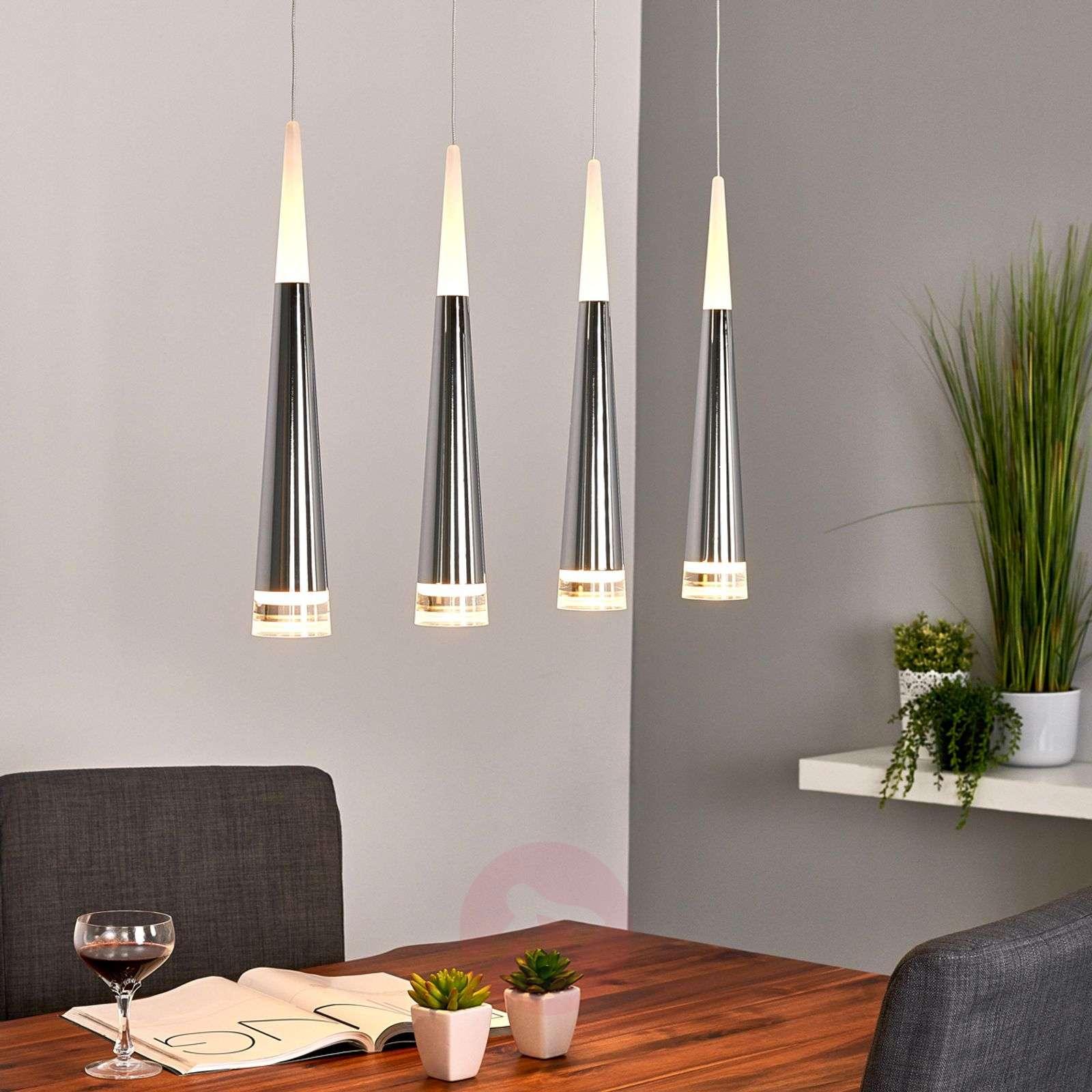 4-bulb LED hanging lamp Janne-9987052-06