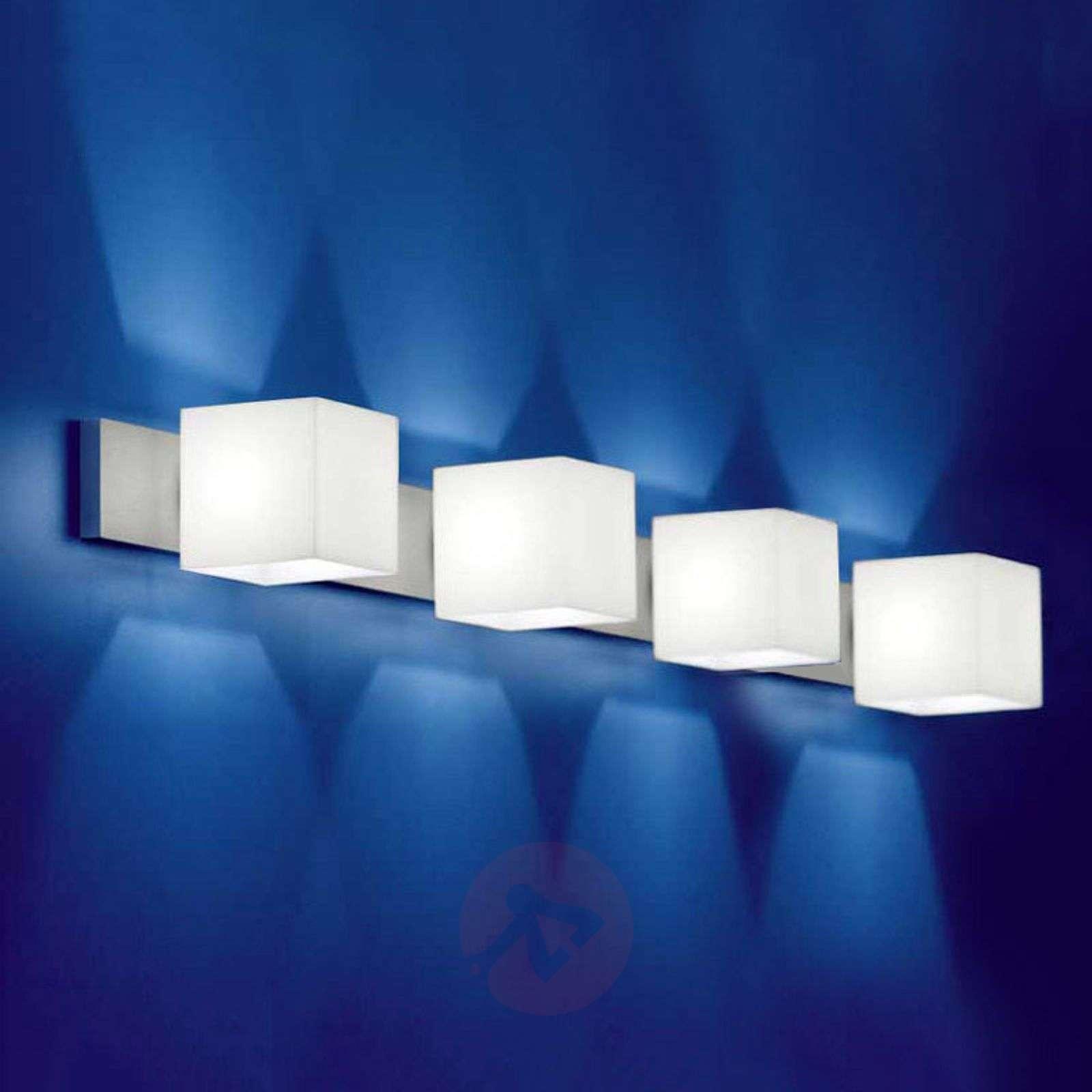 4-bulb wall light CUBE with no-glare_2000307_1