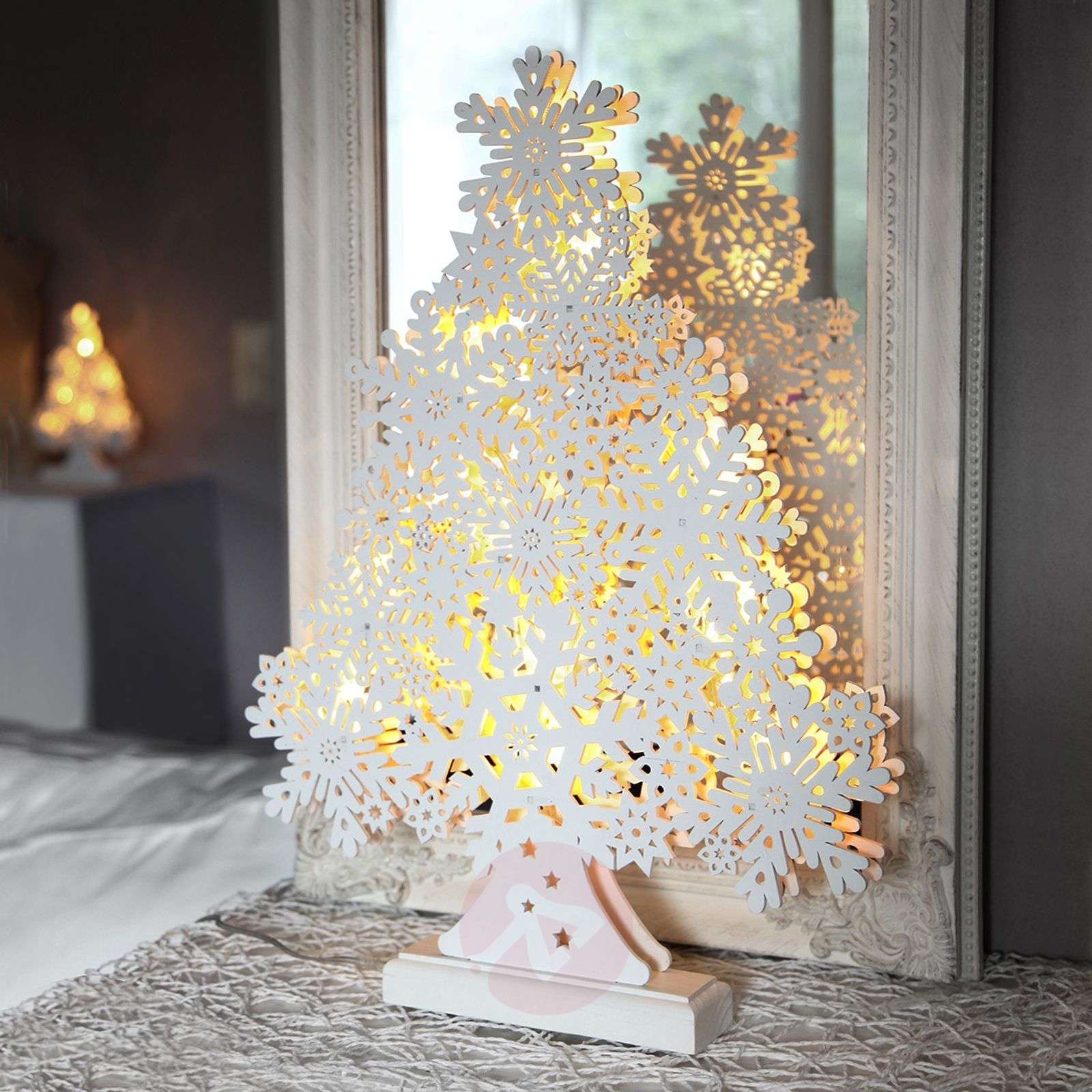 45 cm high LED window candle Winter Tree-1522617-01