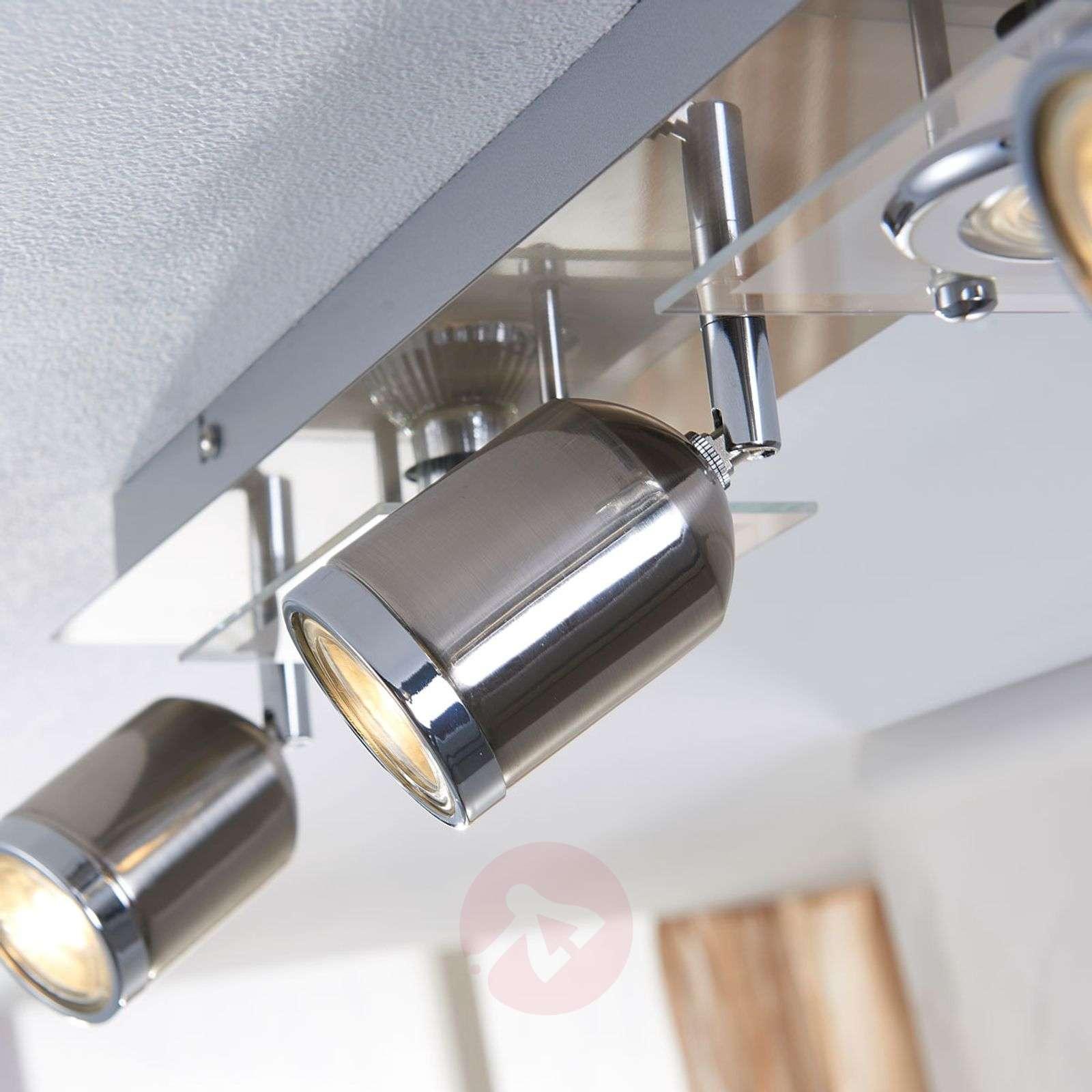 5-Bulb LED ceiling spotlight Fjolla-9621085-02