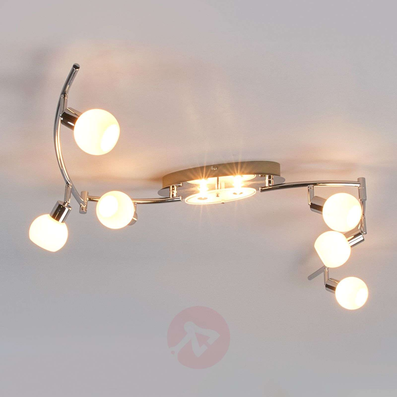 8 bulb led ceiling light evaletta g9 lamps lights 8 bulb led ceiling light evaletta g9 lamps 9994093 02 aloadofball Choice Image