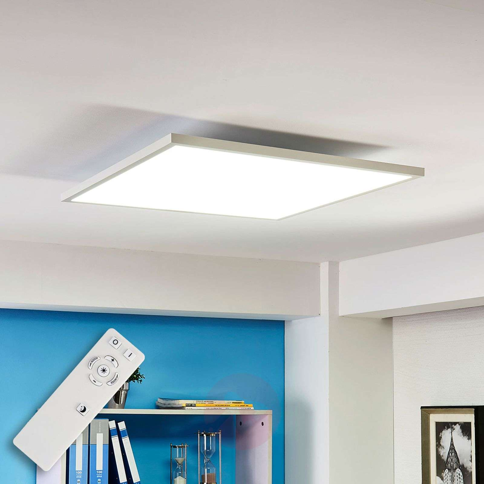Adj. luminous colour LED panel Philia, 59.5 cm-9621214-011