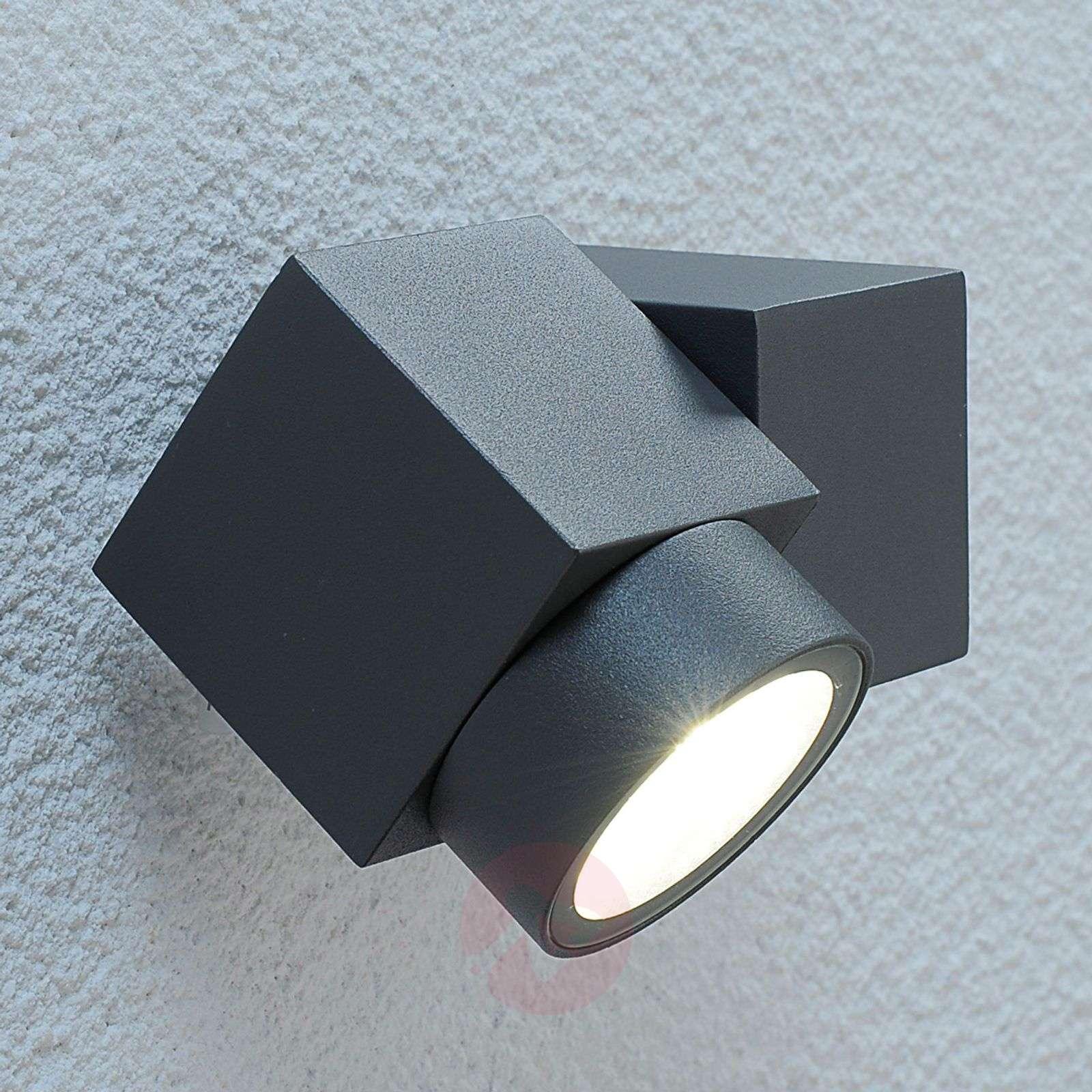 Outdoor Spot Light Adjustable led outdoor spotlight lorelle lights adjustable led outdoor spotlight lorelle 9618048 01 workwithnaturefo