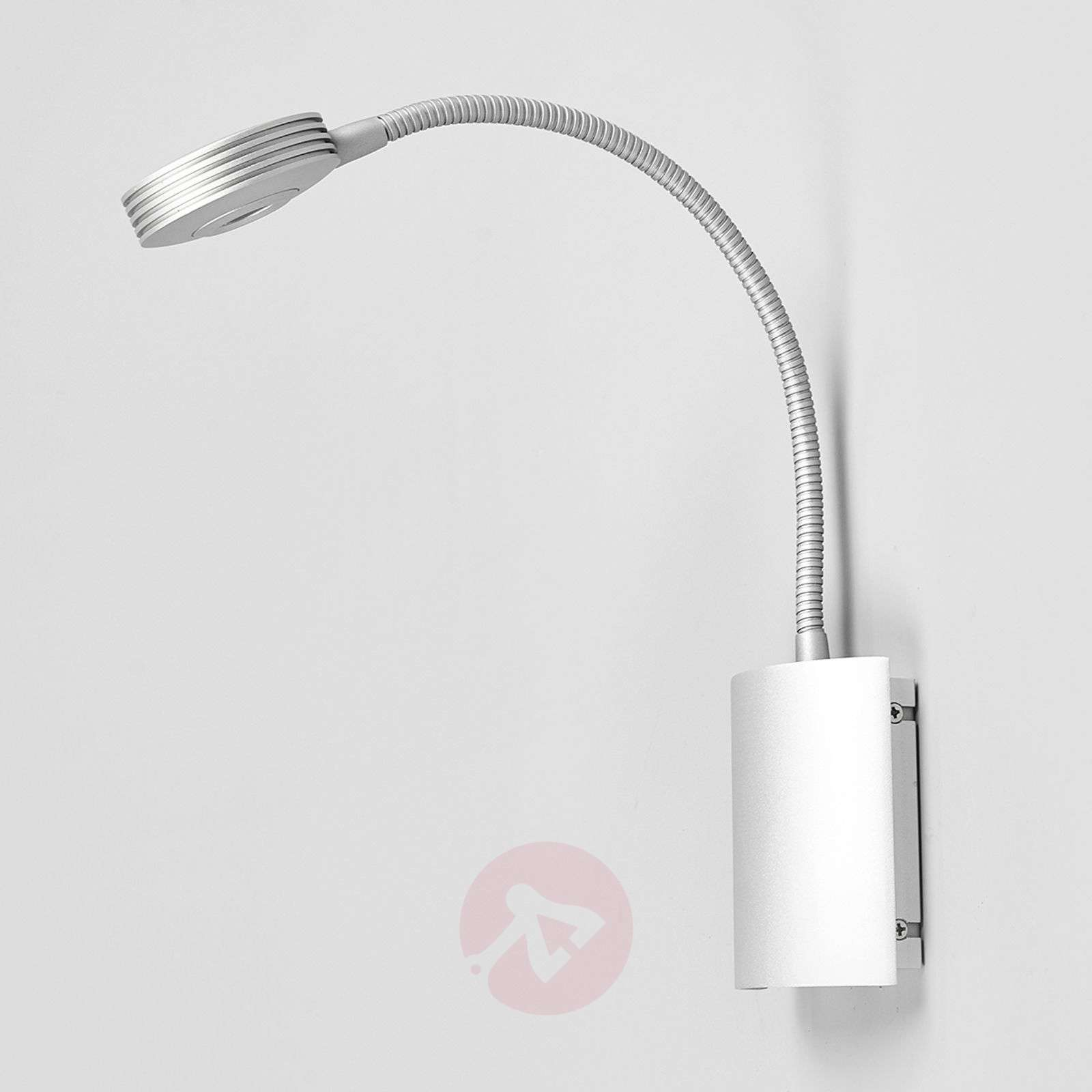 Adjustable wall light adina with led flexible arm lights adjustable wall light adina with led flexible arm 9976004 07 aloadofball Image collections