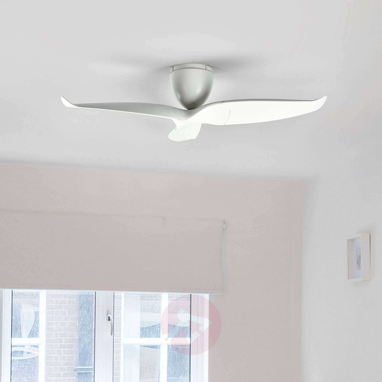 Aeratron ceiling fan, white, 126 cm-1068011-021