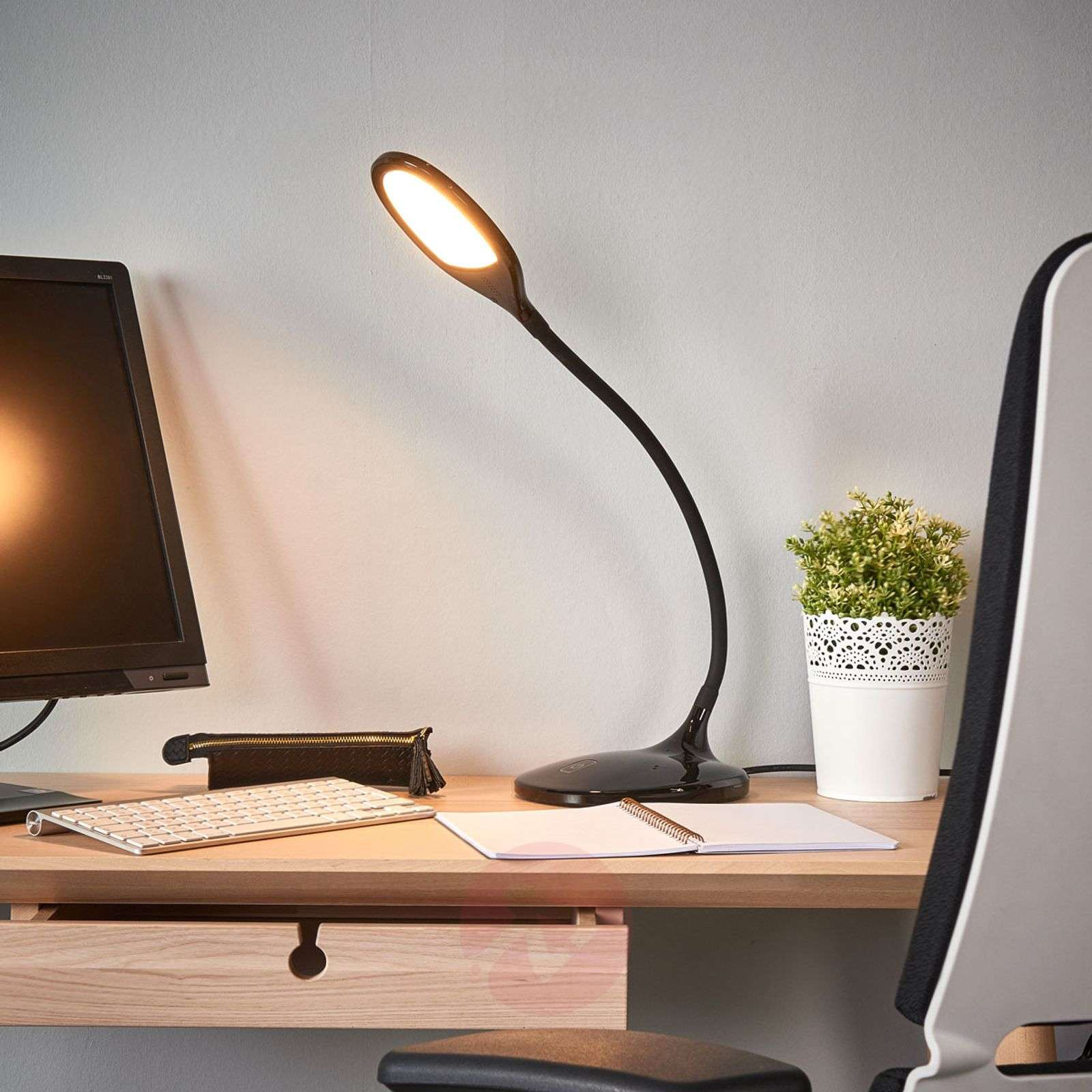 Aijana LED desk lamp with dimmer-9643044-02