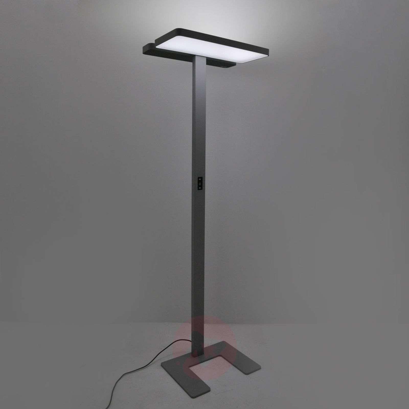 Aila Office Led Floor Lamp Daylight Sensor 4 000k Lights Ie