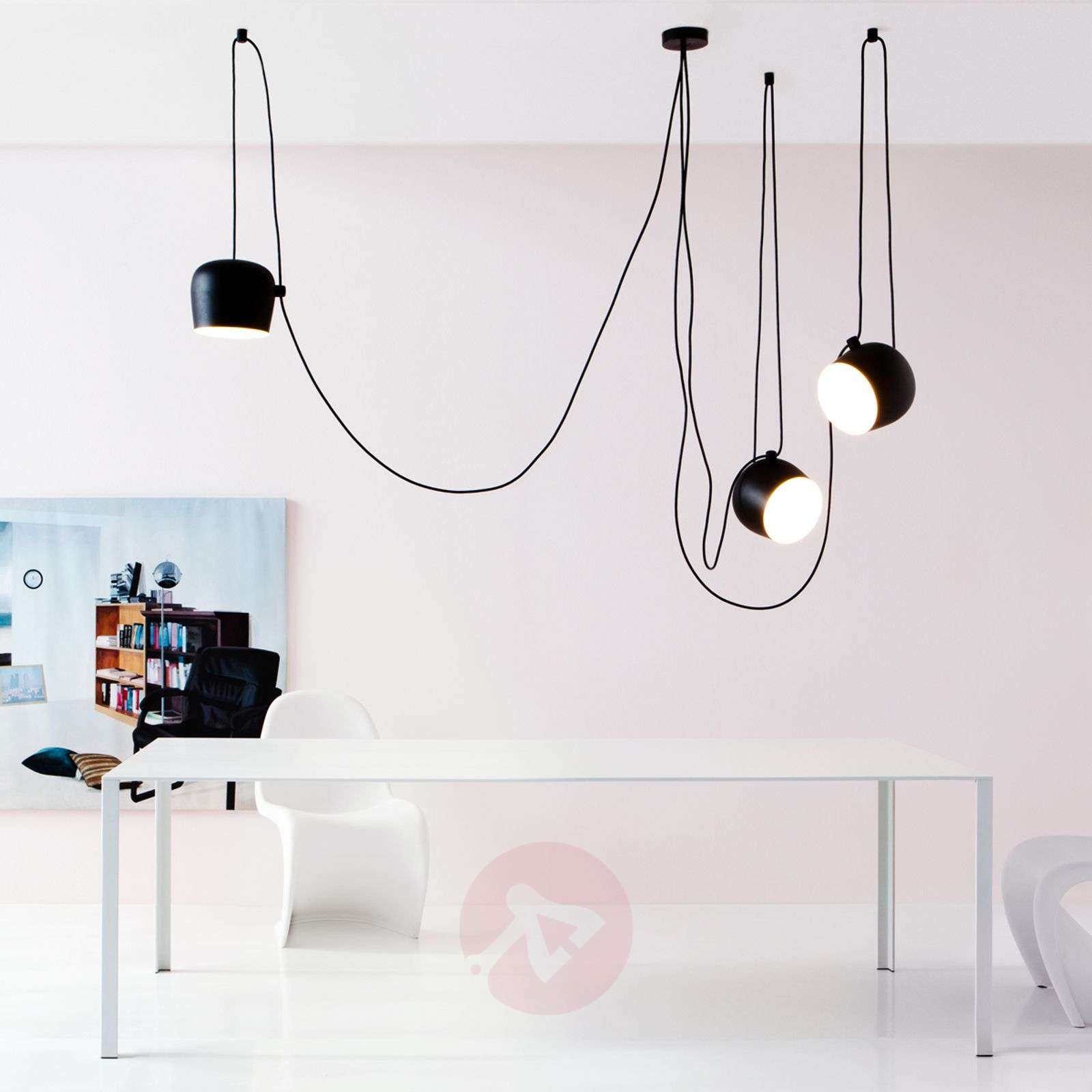 Aim Small switch Dim EUR black pendant light-3510325-06