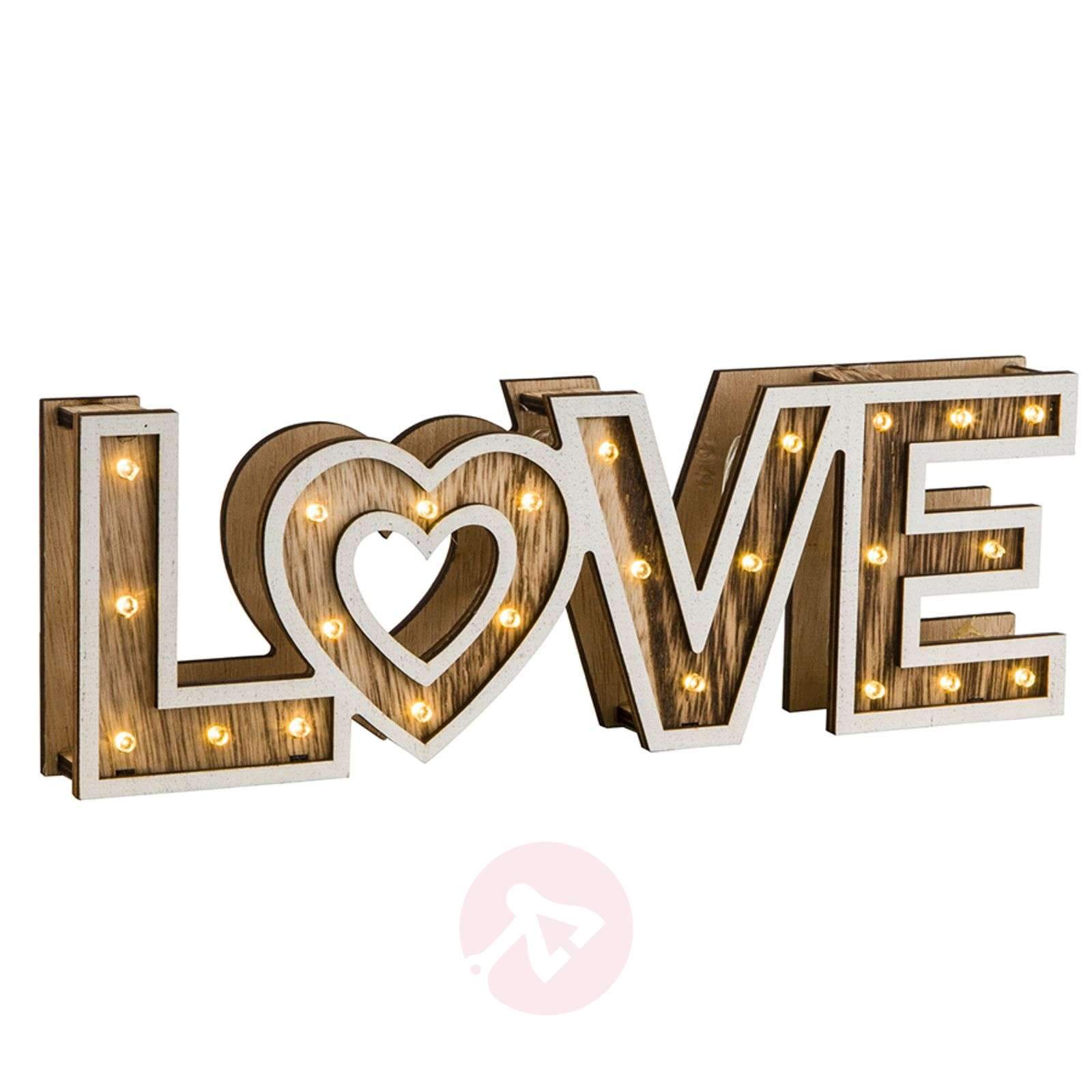 Aimi LED table lamp Love with batteries-4014913-01