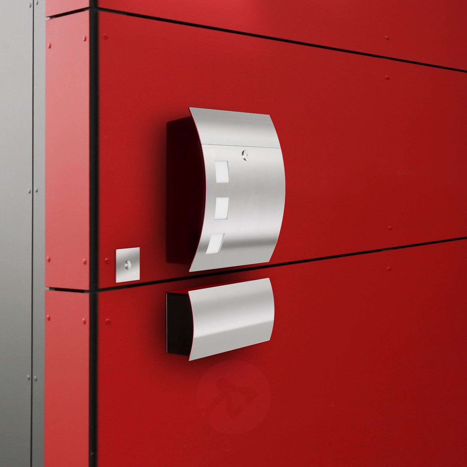 Alani High-quality Letterbox with Stainless Steel-2011001-01