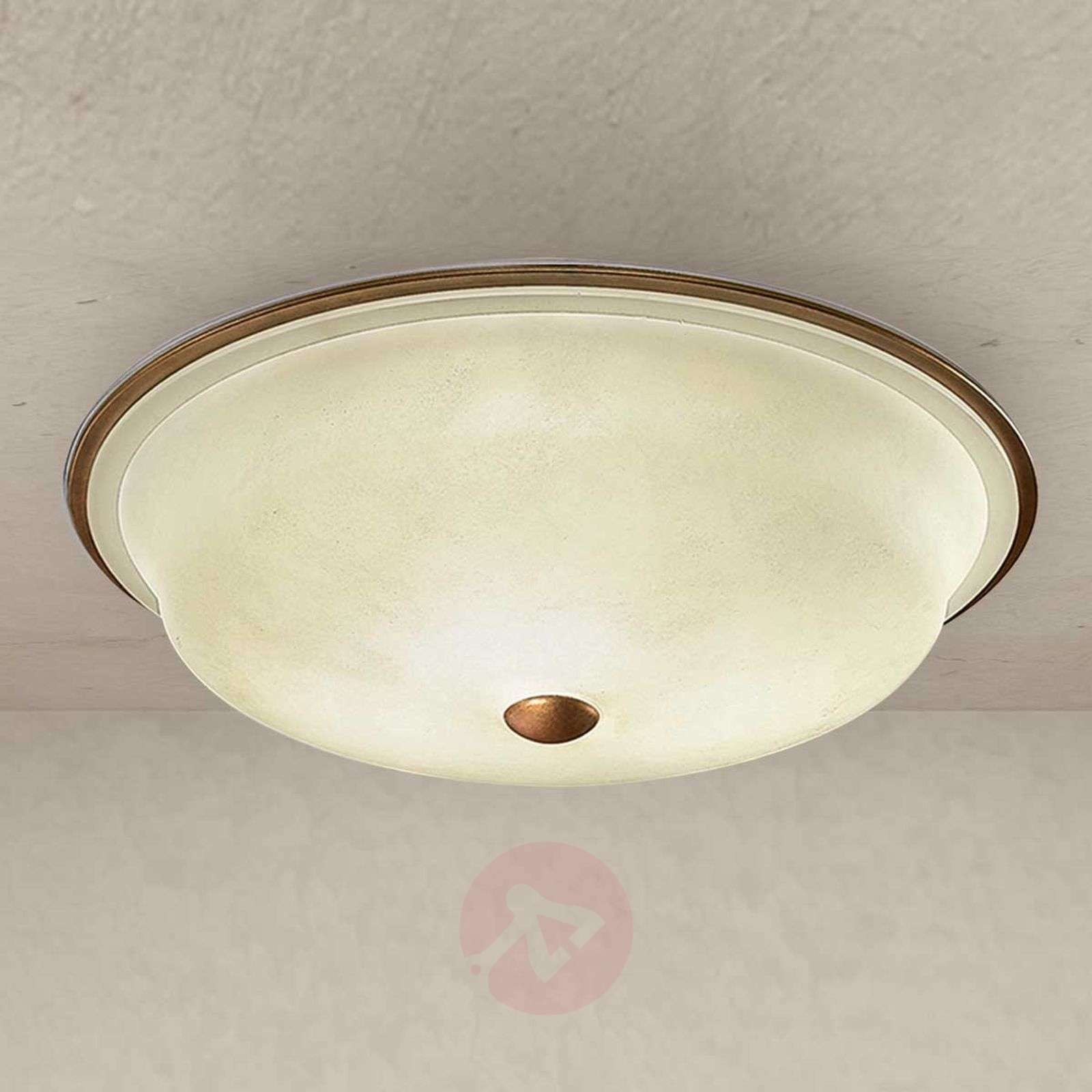 Alessio Ceiling Light With Round Gl