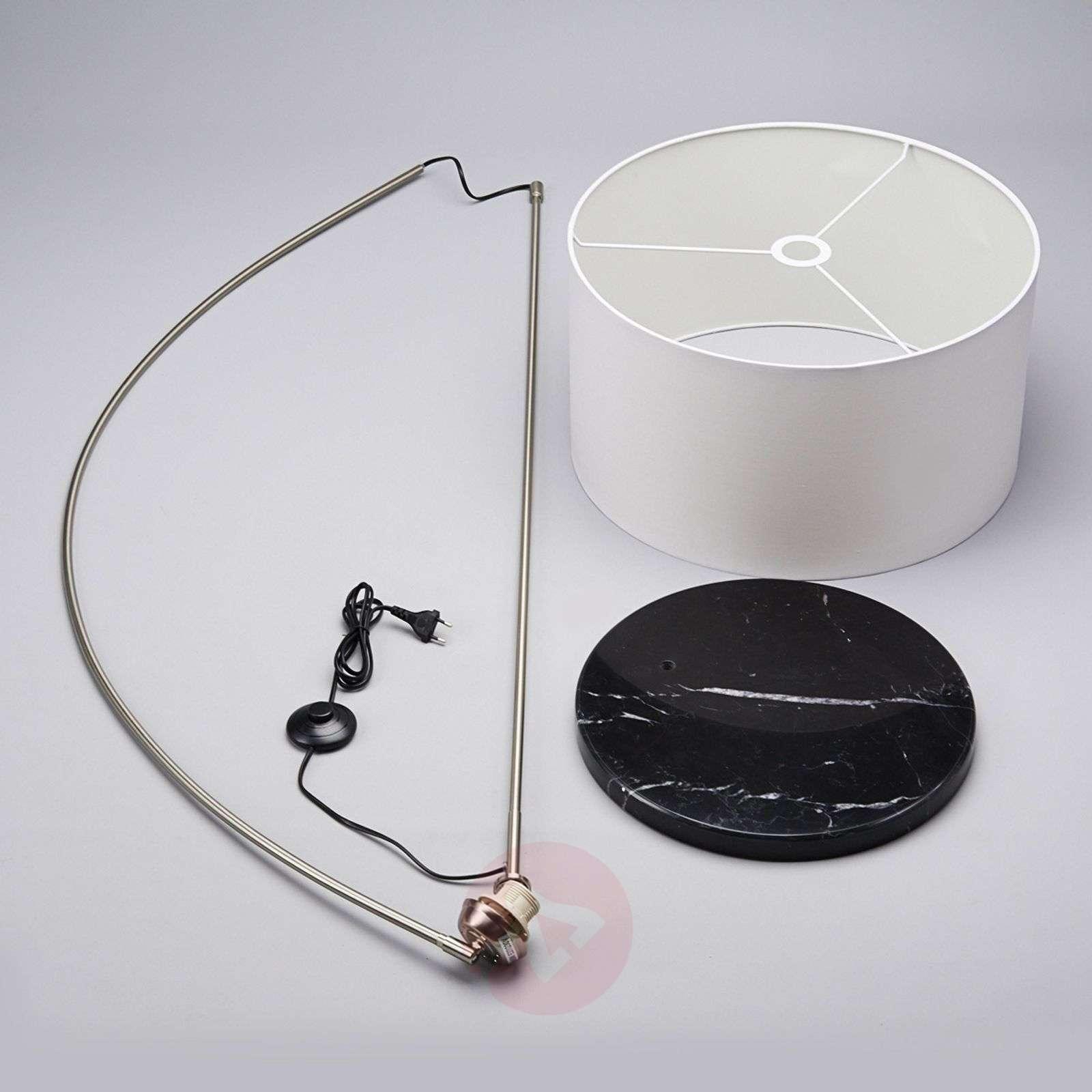 Alia fabric floor lamp with an LED lamp-9620175-01
