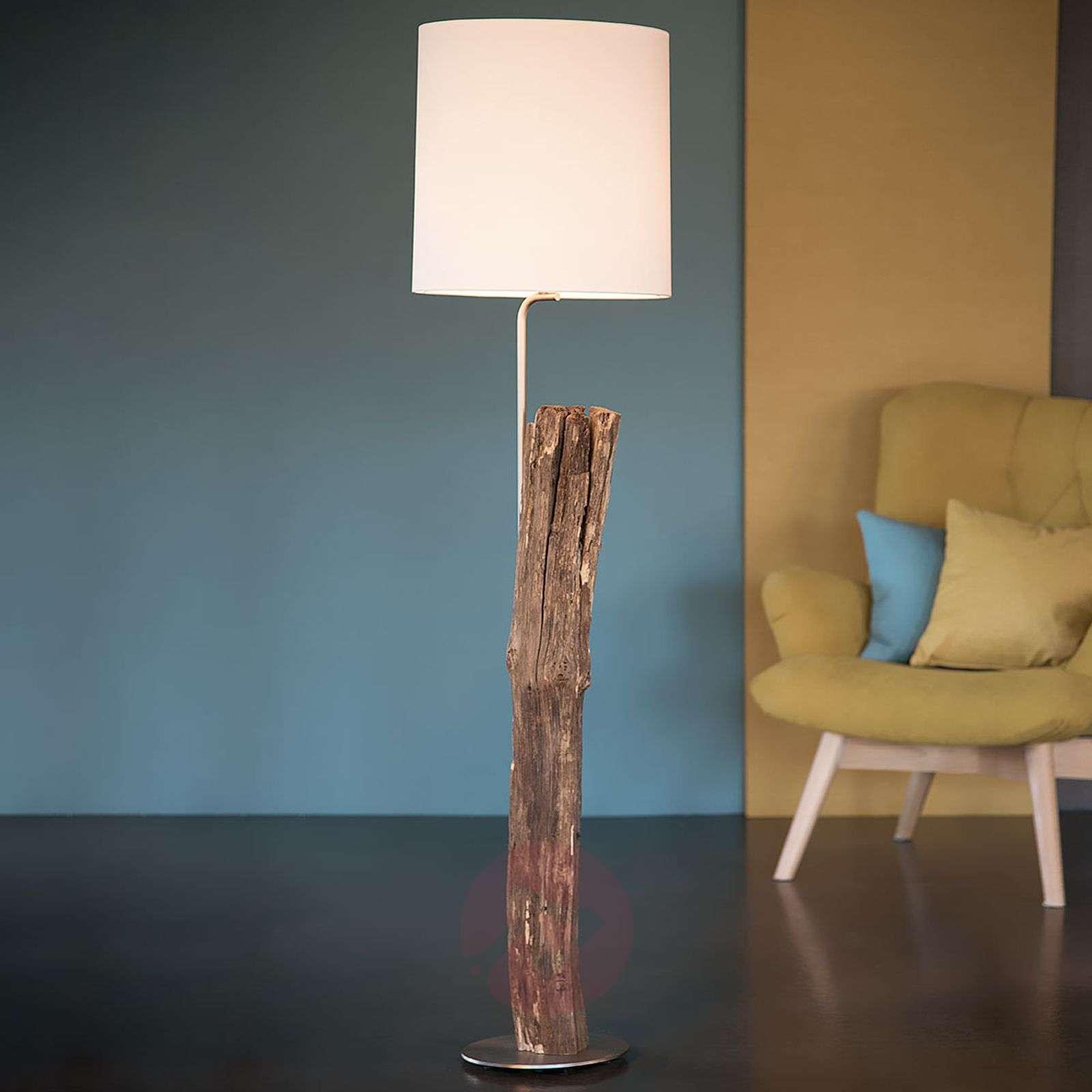 alter lighting. Alter Kavalier Wood Floor Lamp With Felt Shade-4543018-01 Lighting