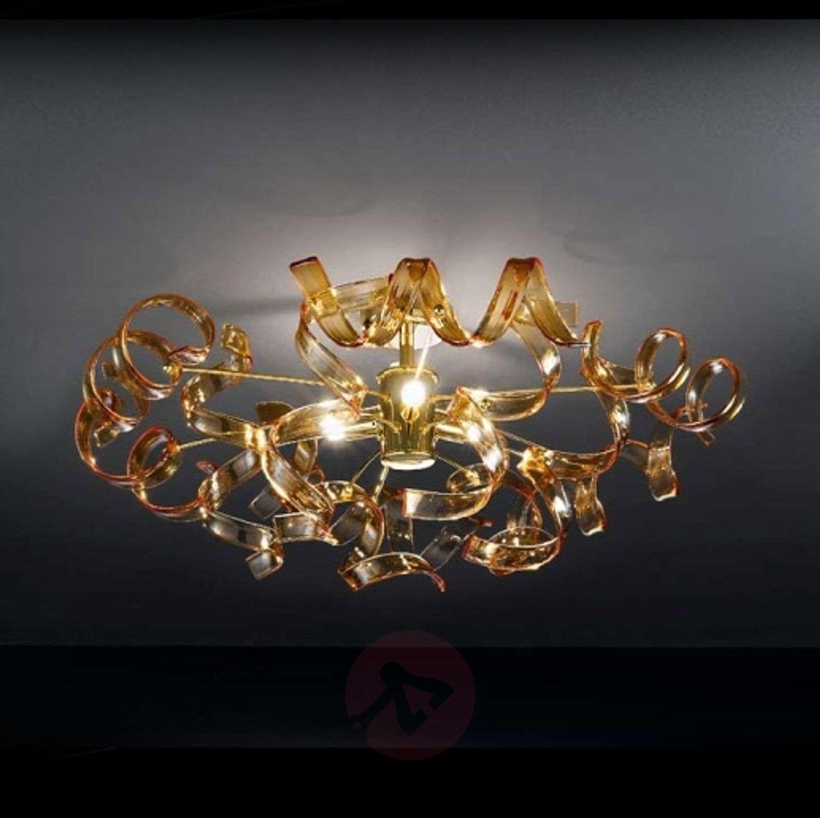 Amber coloured ceiling light amber 60 cm diameter lights amber coloured ceiling light amber 60 cm diameter 6511119 01 aloadofball Gallery