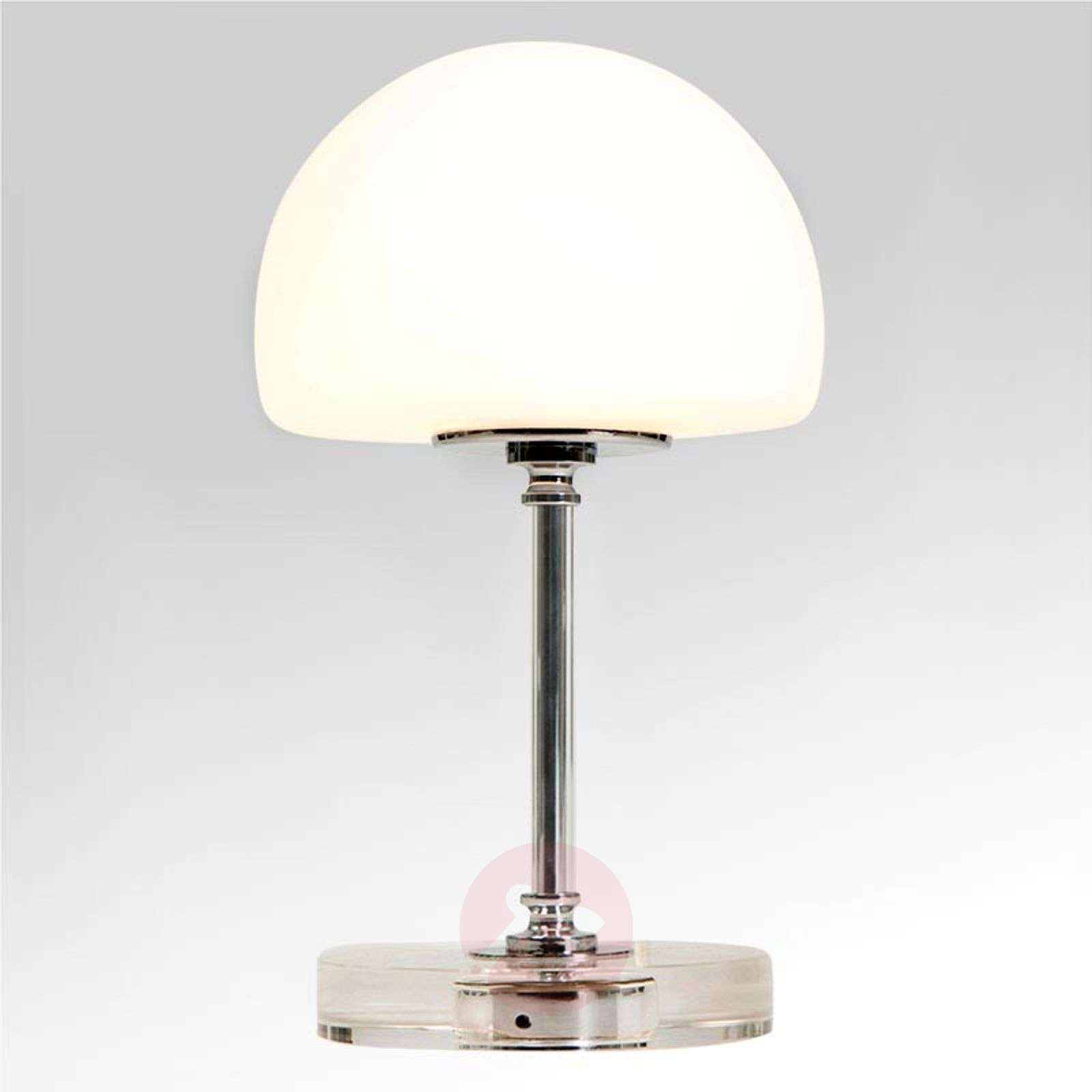 Ancilla chrome-plated LED table lamp with dimmer-8509741-01