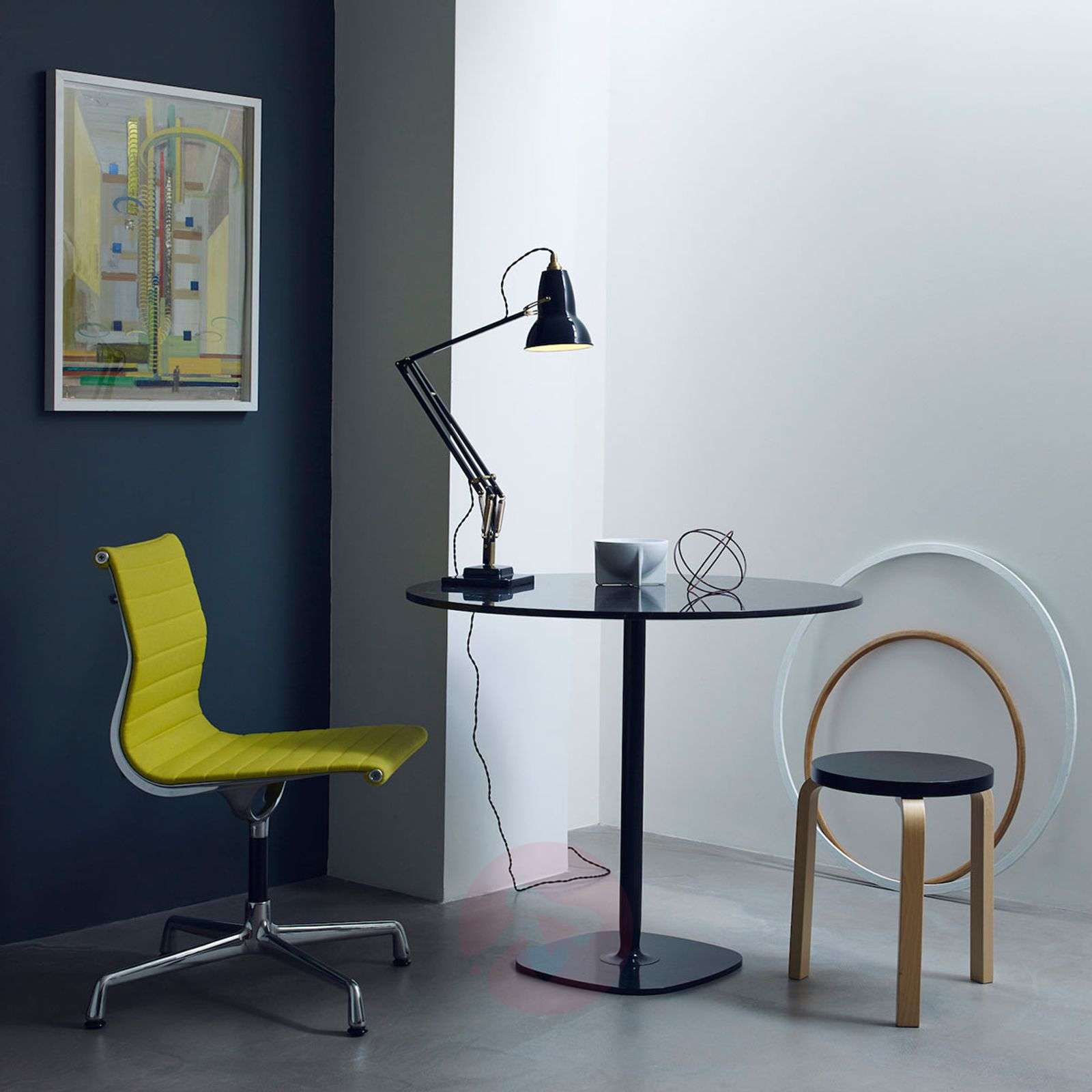 Anglepoise Original 1227 brass table lamp-1073008X-01