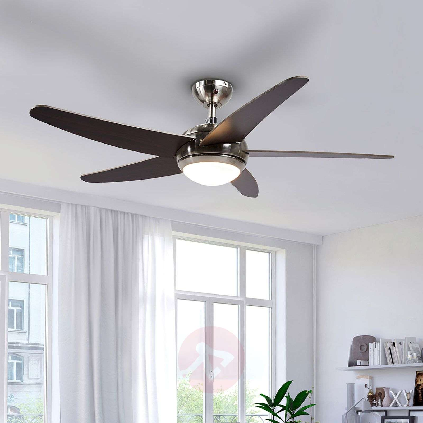 Anneka LED ceiling fan with light-4018093-08