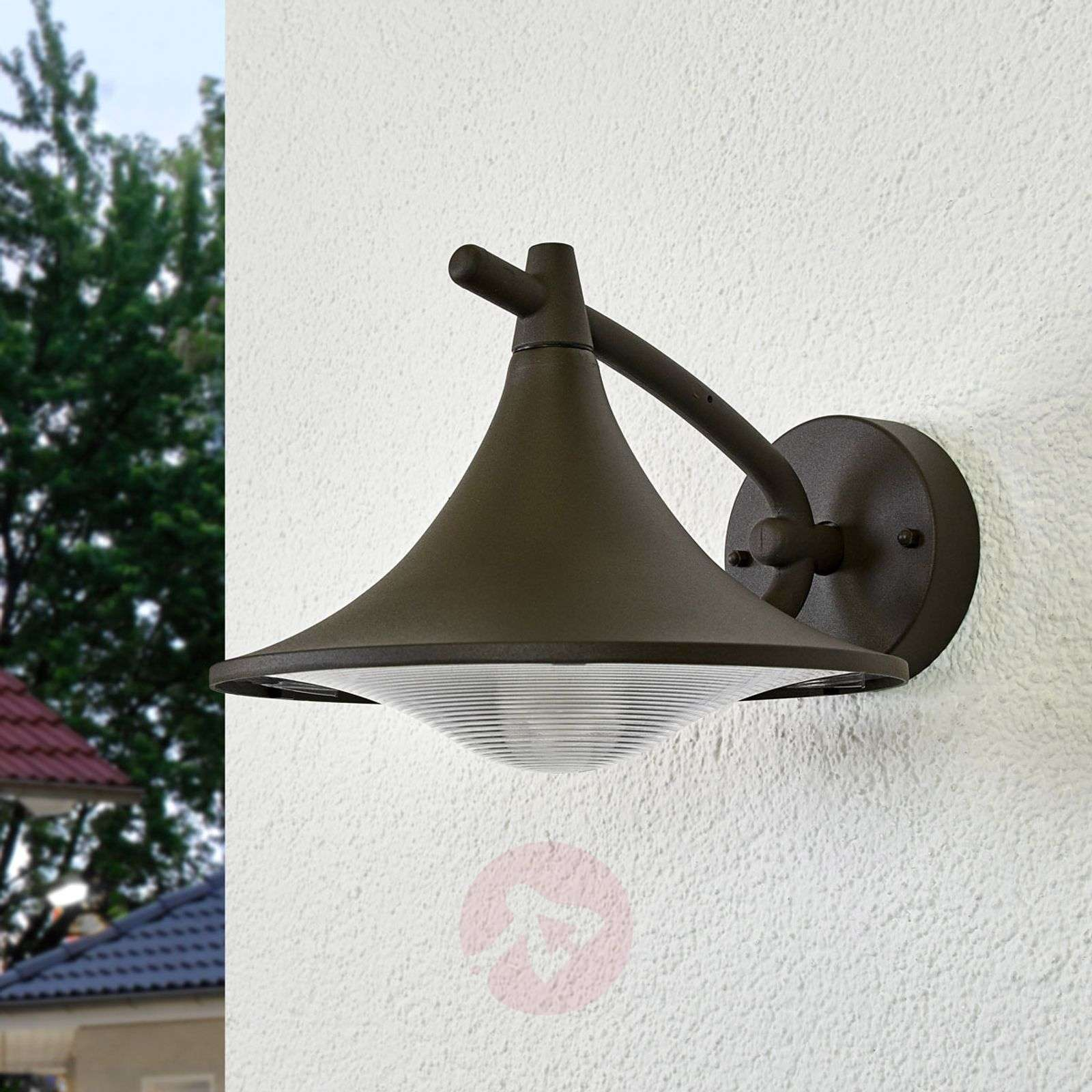 Anthracite-coloured Cedar outdoor wall light-7531783-01
