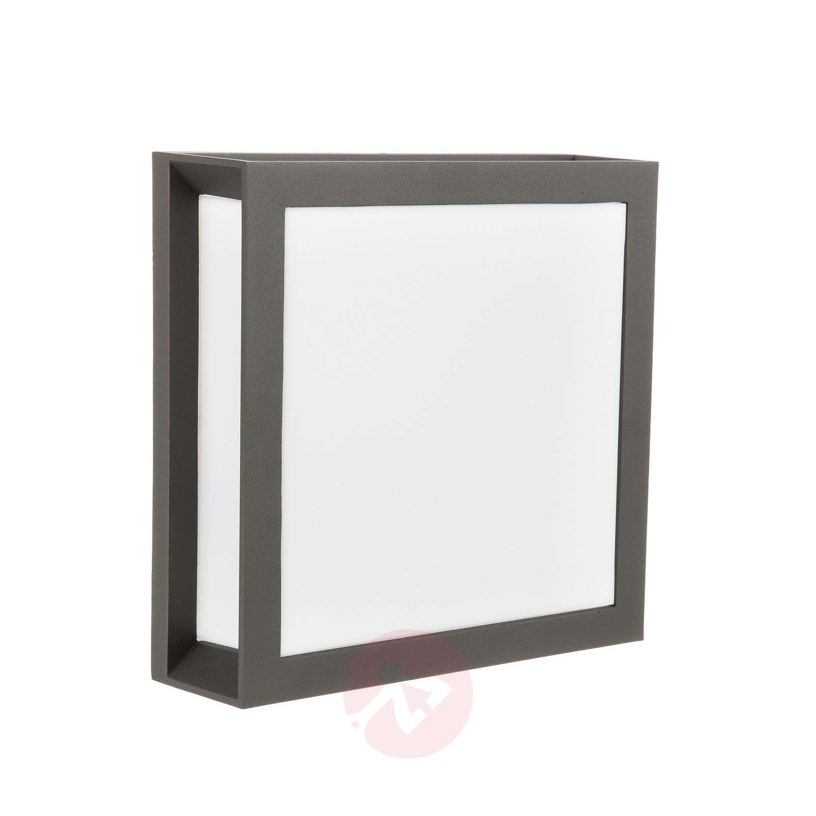 Anthracite-coloured outdoor wall lamp Henry, IP44-7255350-01