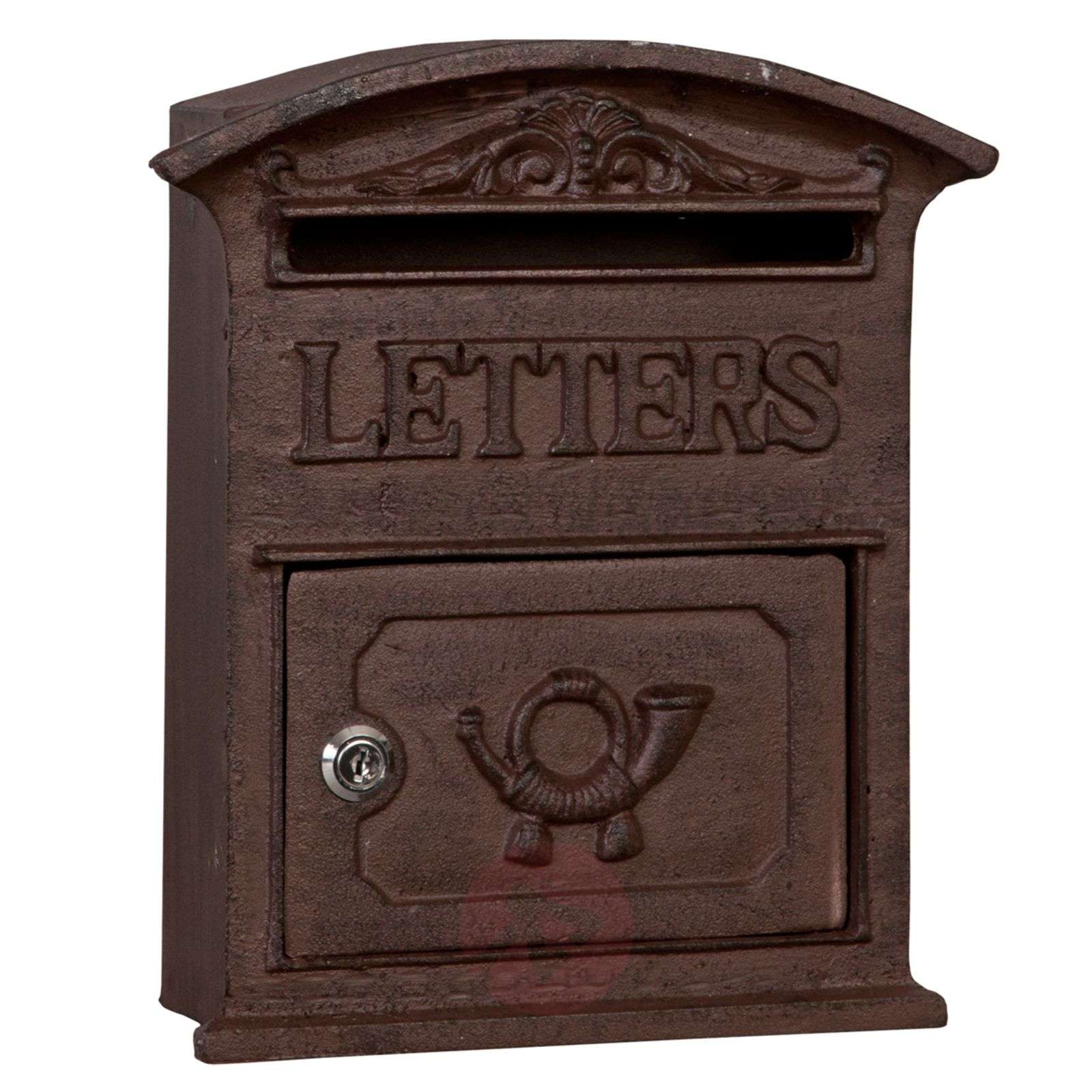 Antiko wonderful cast iron letter box-6064285-01