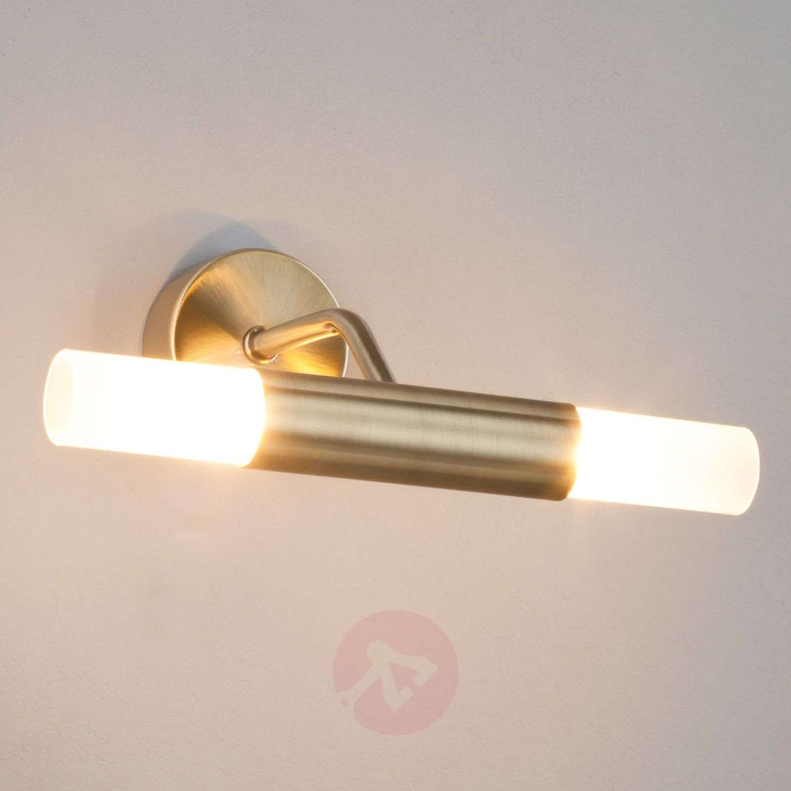 Antique brass-coloured wall lamp Viviane-9970024-01
