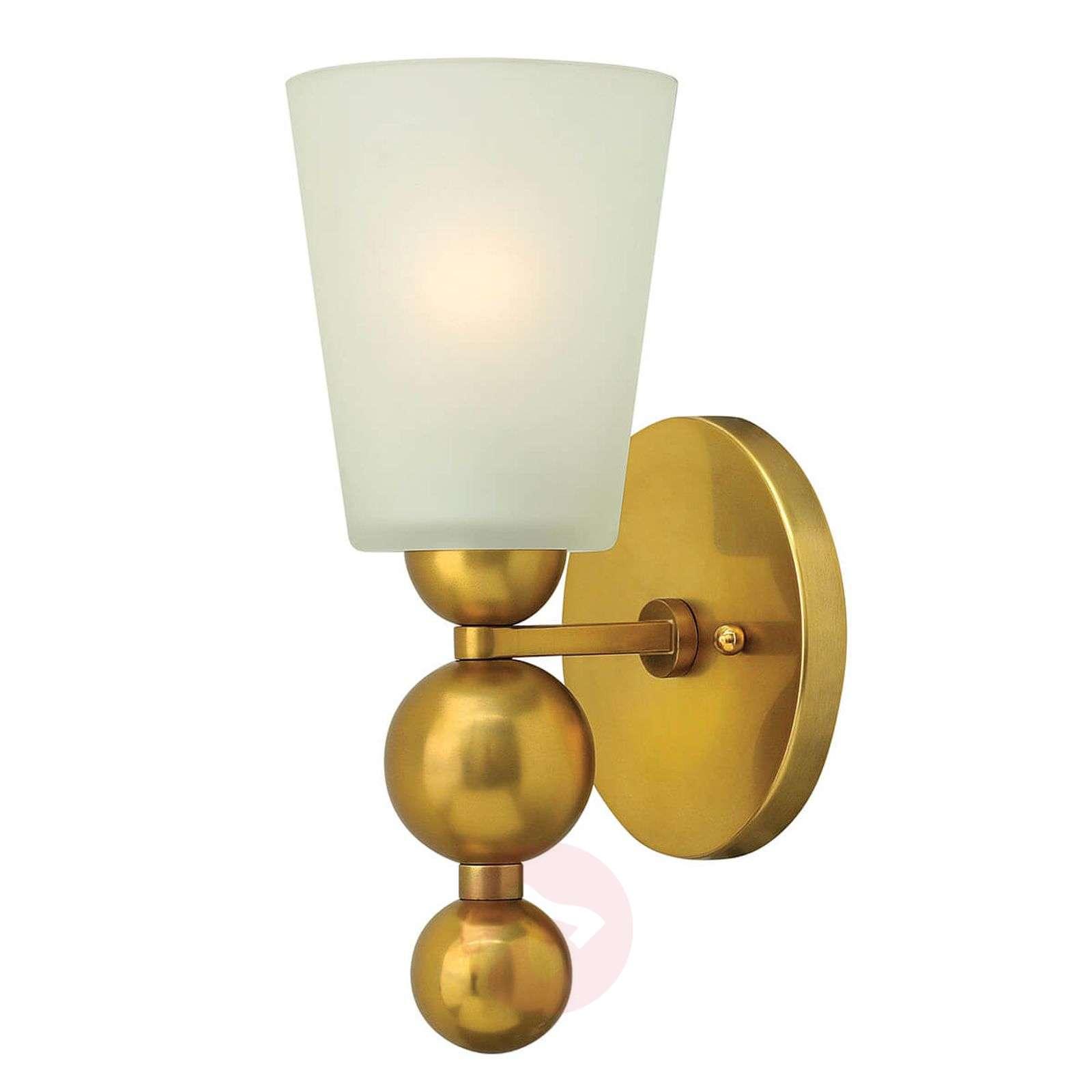 Antique brass-coloured wall lamp Zelda-3048478-01