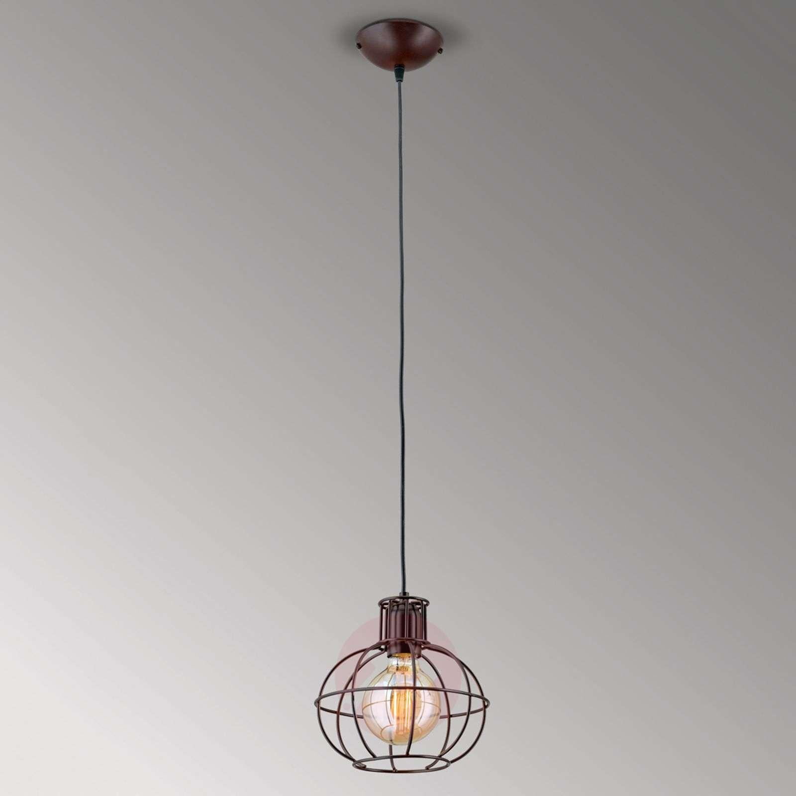 Antique brown hanging light Dilip-7255166-01