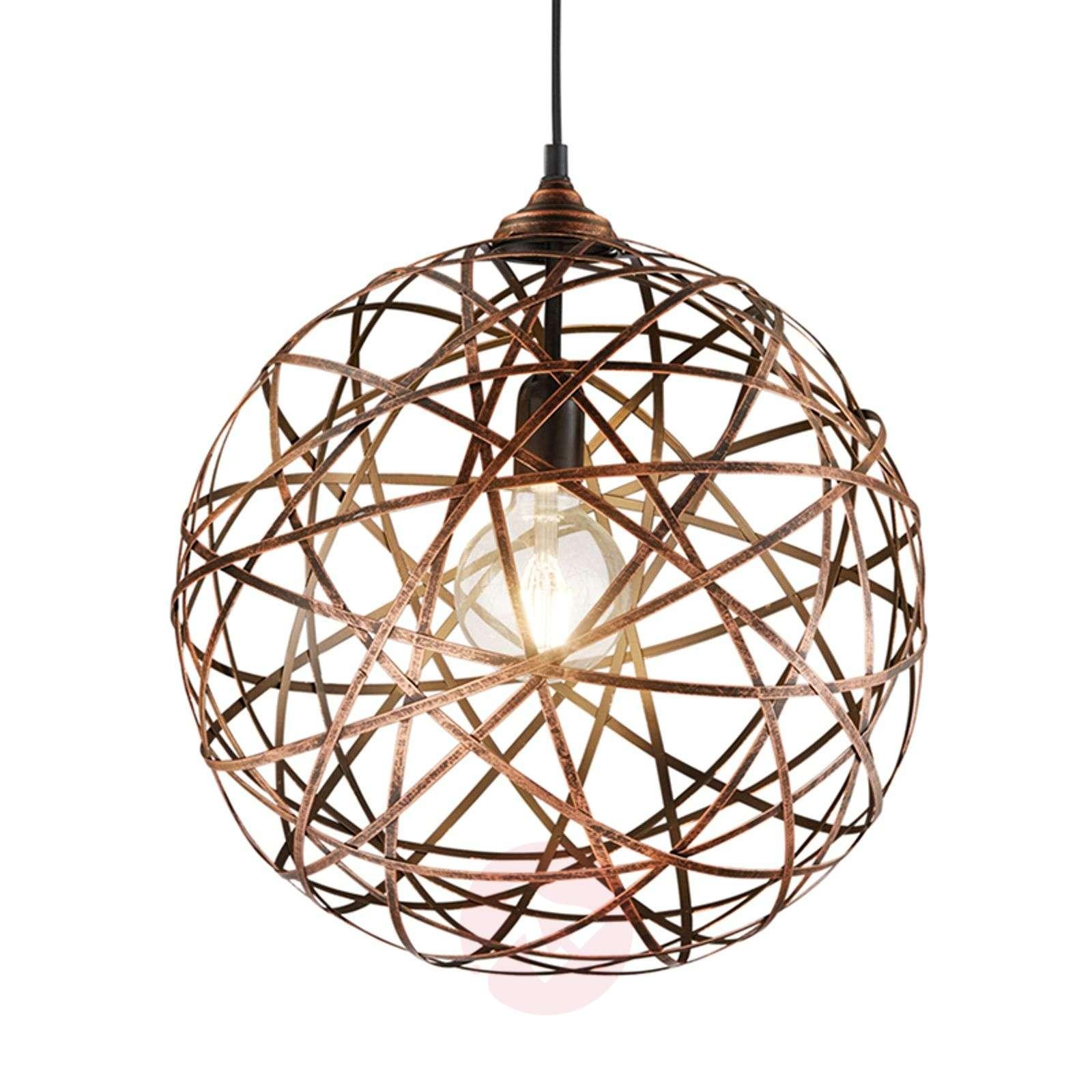Antique copper hanging light Jacob-9005299-01