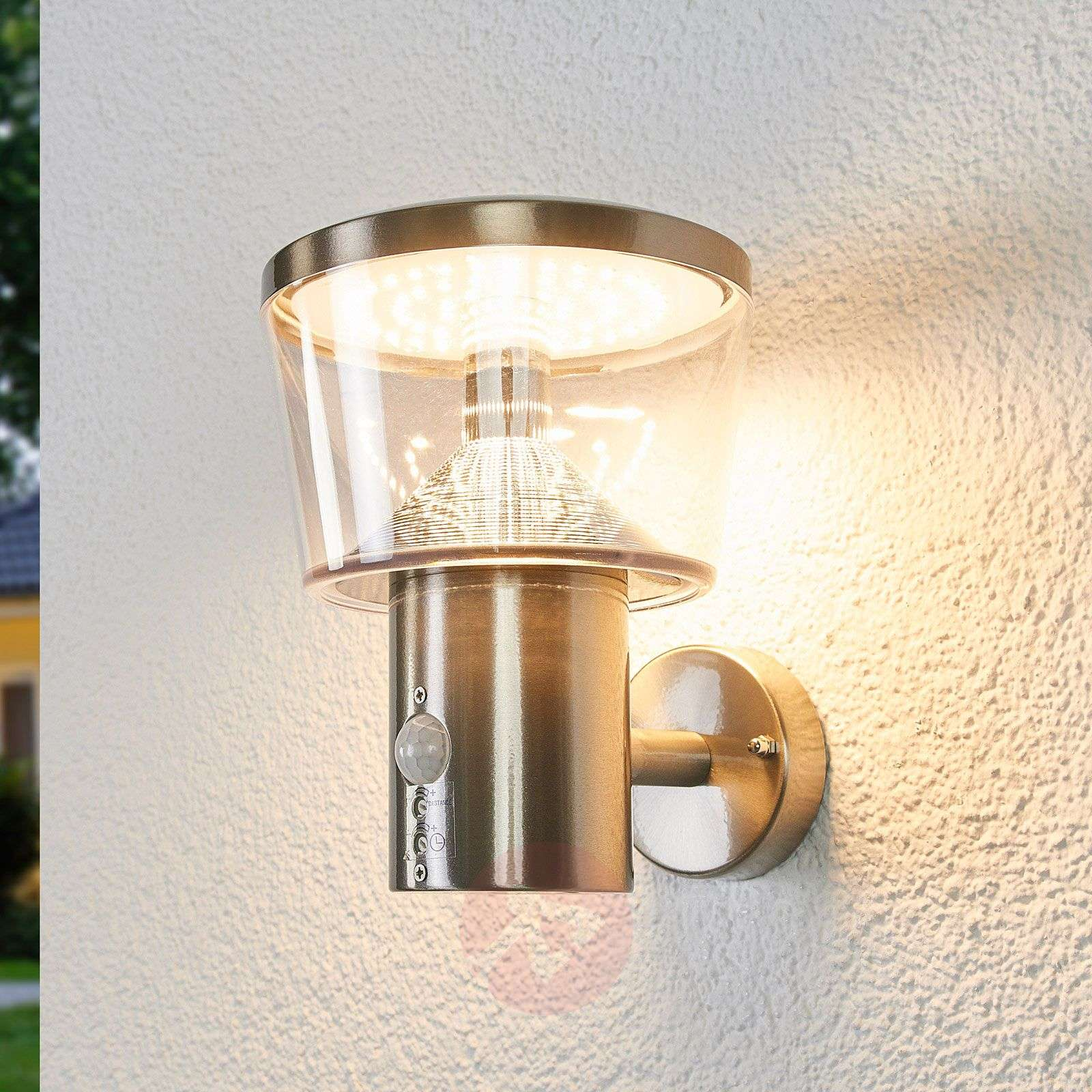 Antje sensor outdoor wall light with LEDs-9988174-01