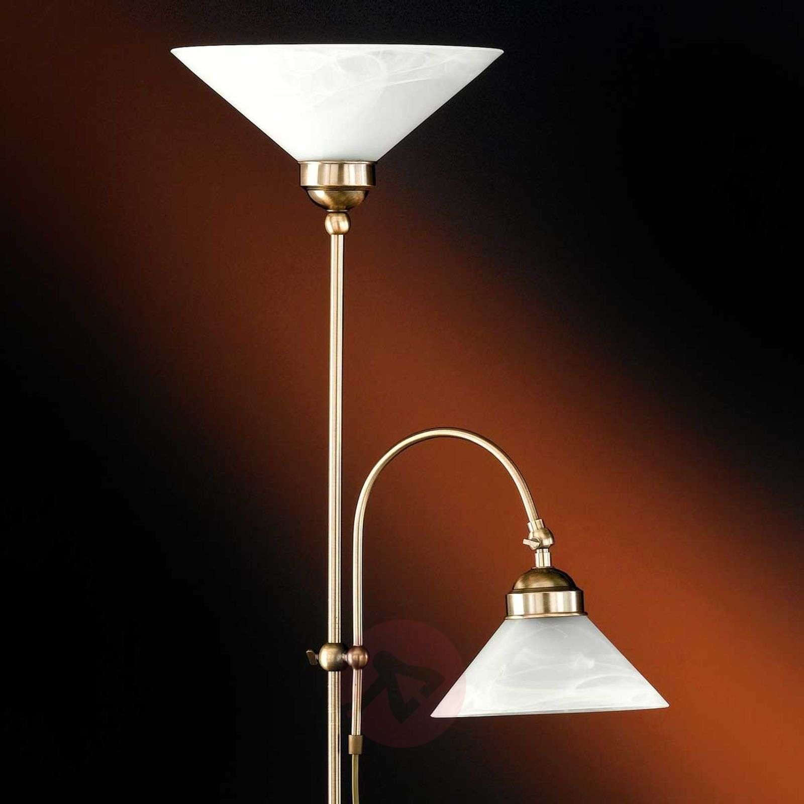 Antwerp uplighter with reading light-4508299-01