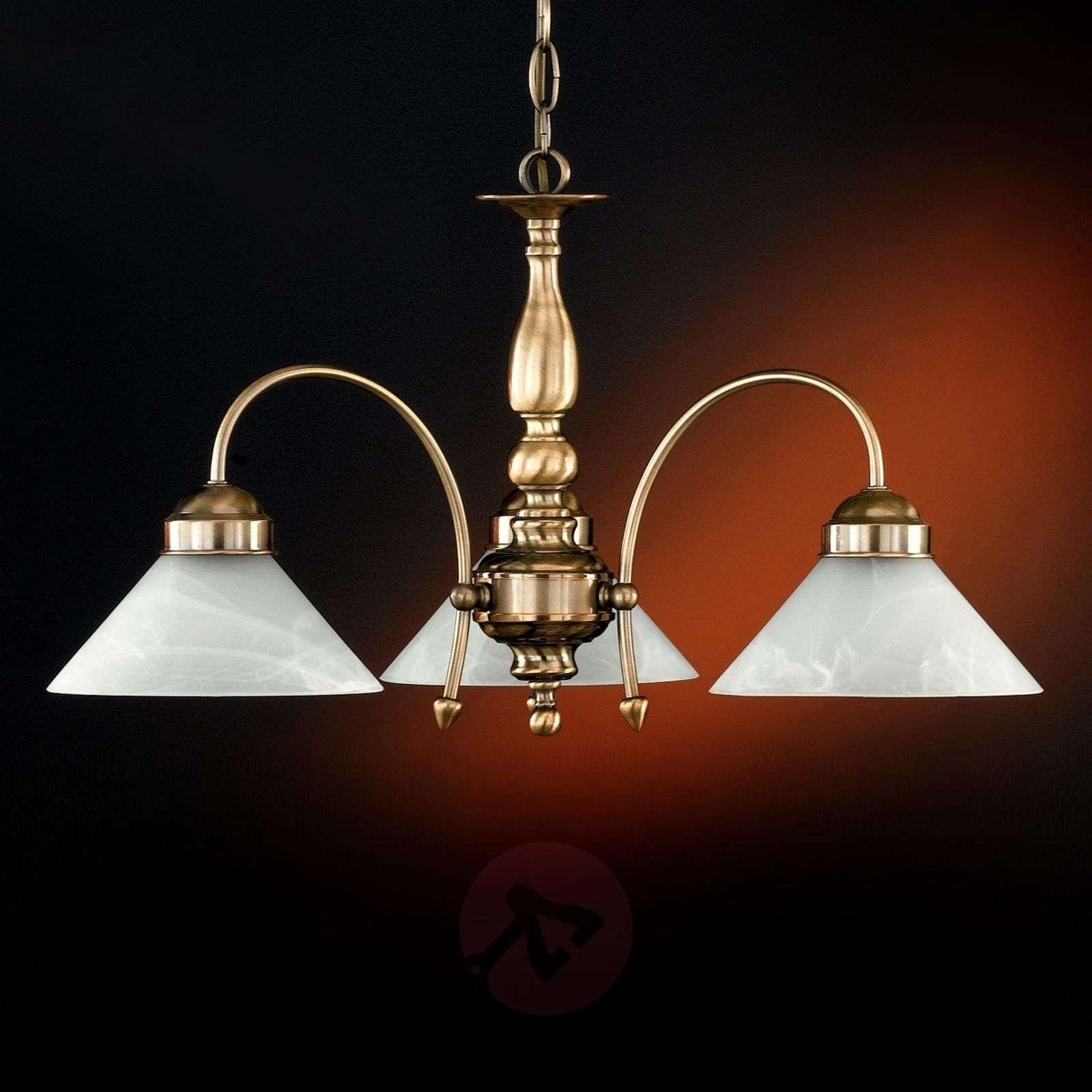 Antwerpen Hanging Light Three-Bulbs Antique Brass-4508378-01